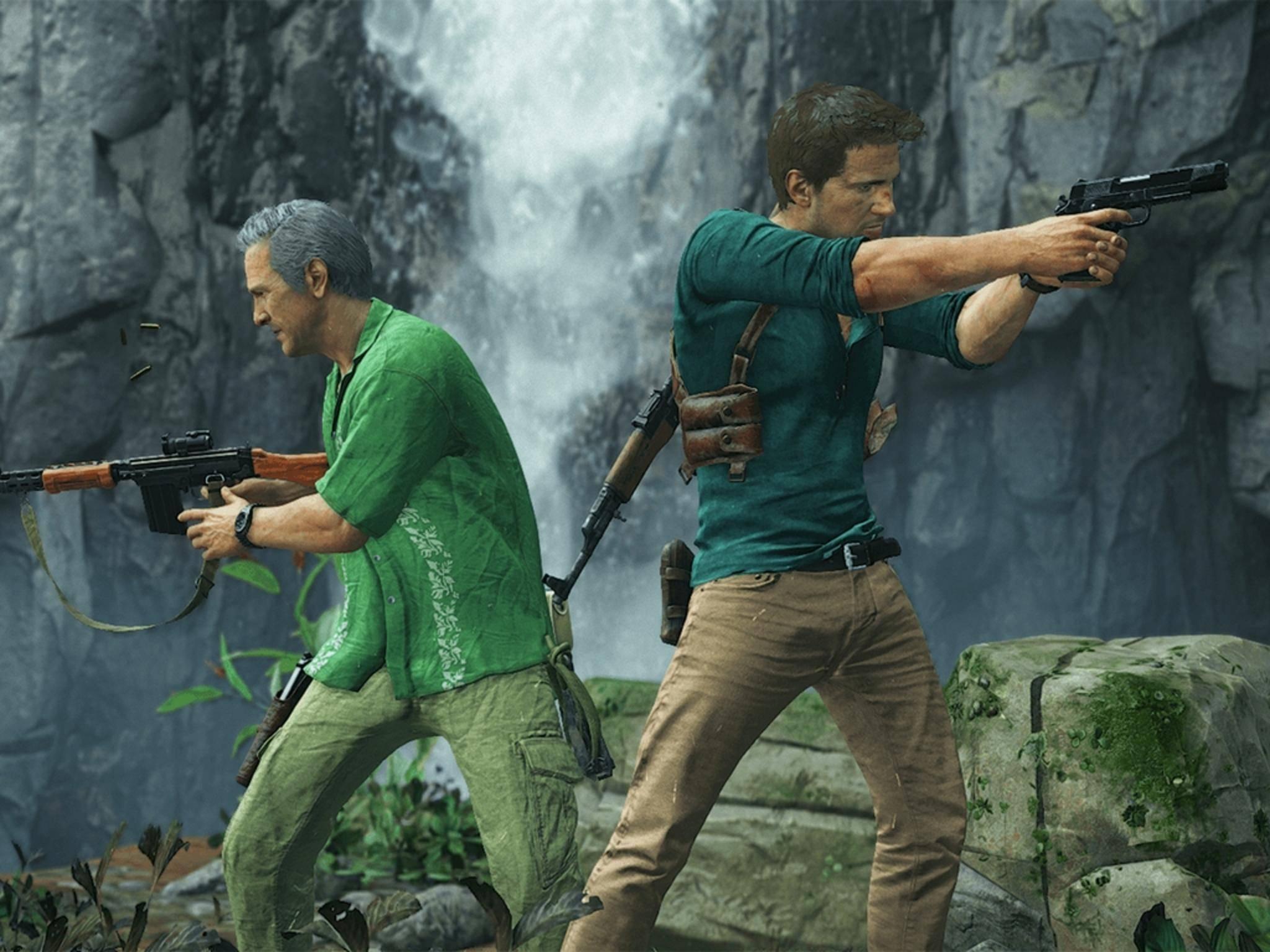 """In """"Uncharted 4"""" werden auch Schießeisen eine zentrale Rolle spielen."""