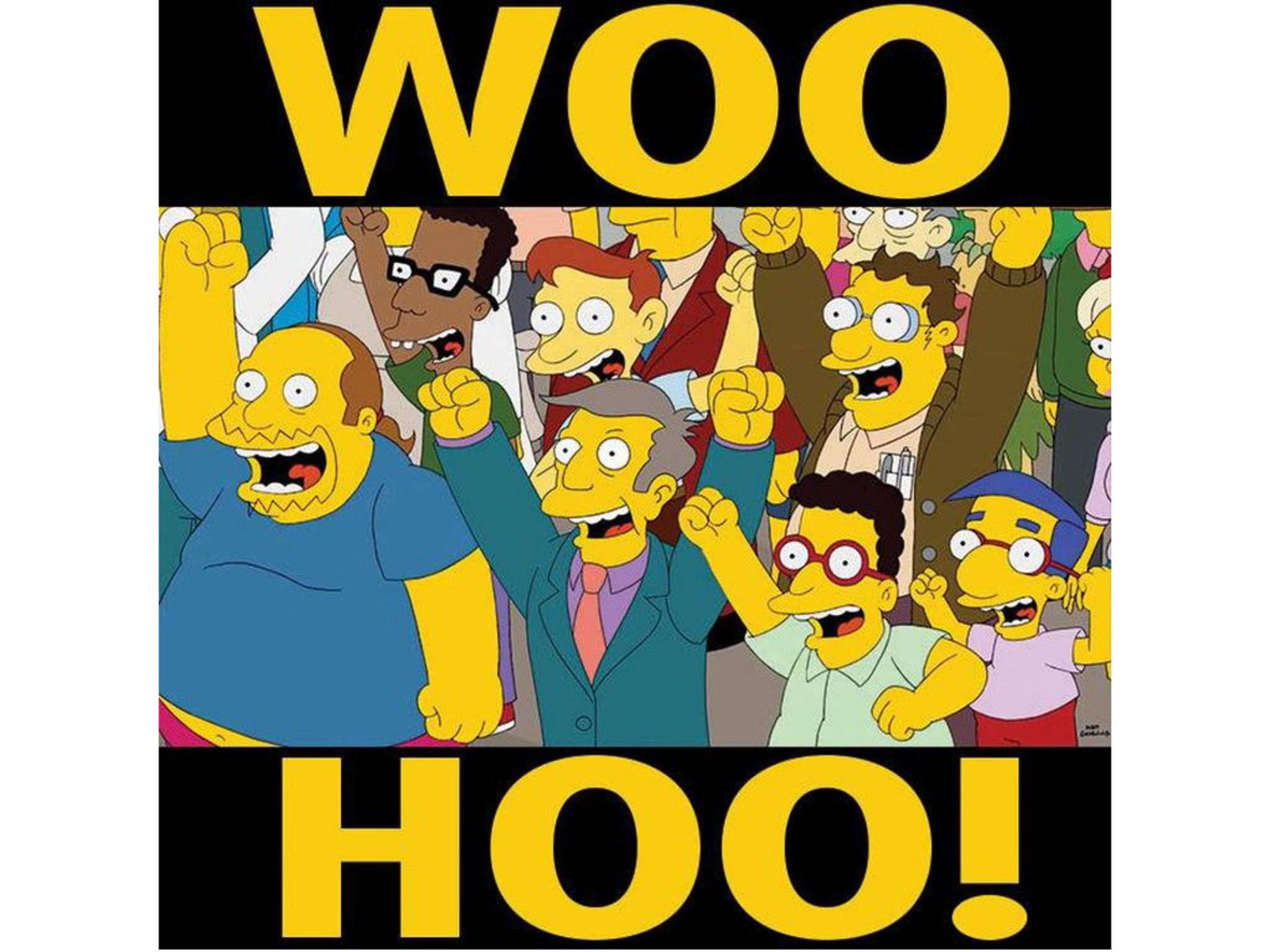Und auch der Rest von Springfield wäre mit an Bord.