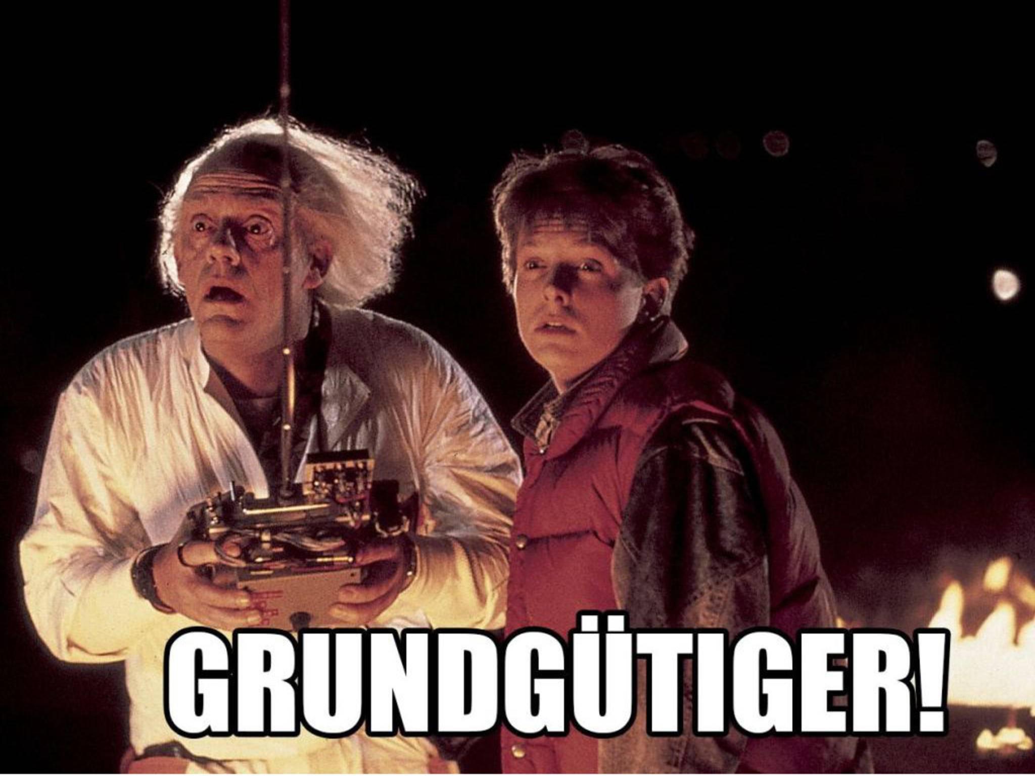 Marty McFly und Doc Brown stimmen Dir zu.