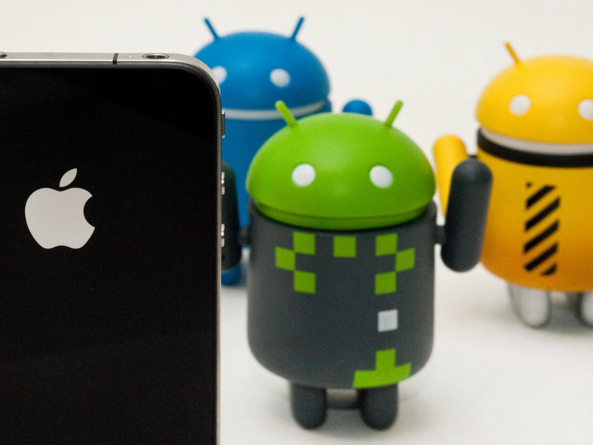 iOS 10 kann sich einige Dinge bei Android abschauen.