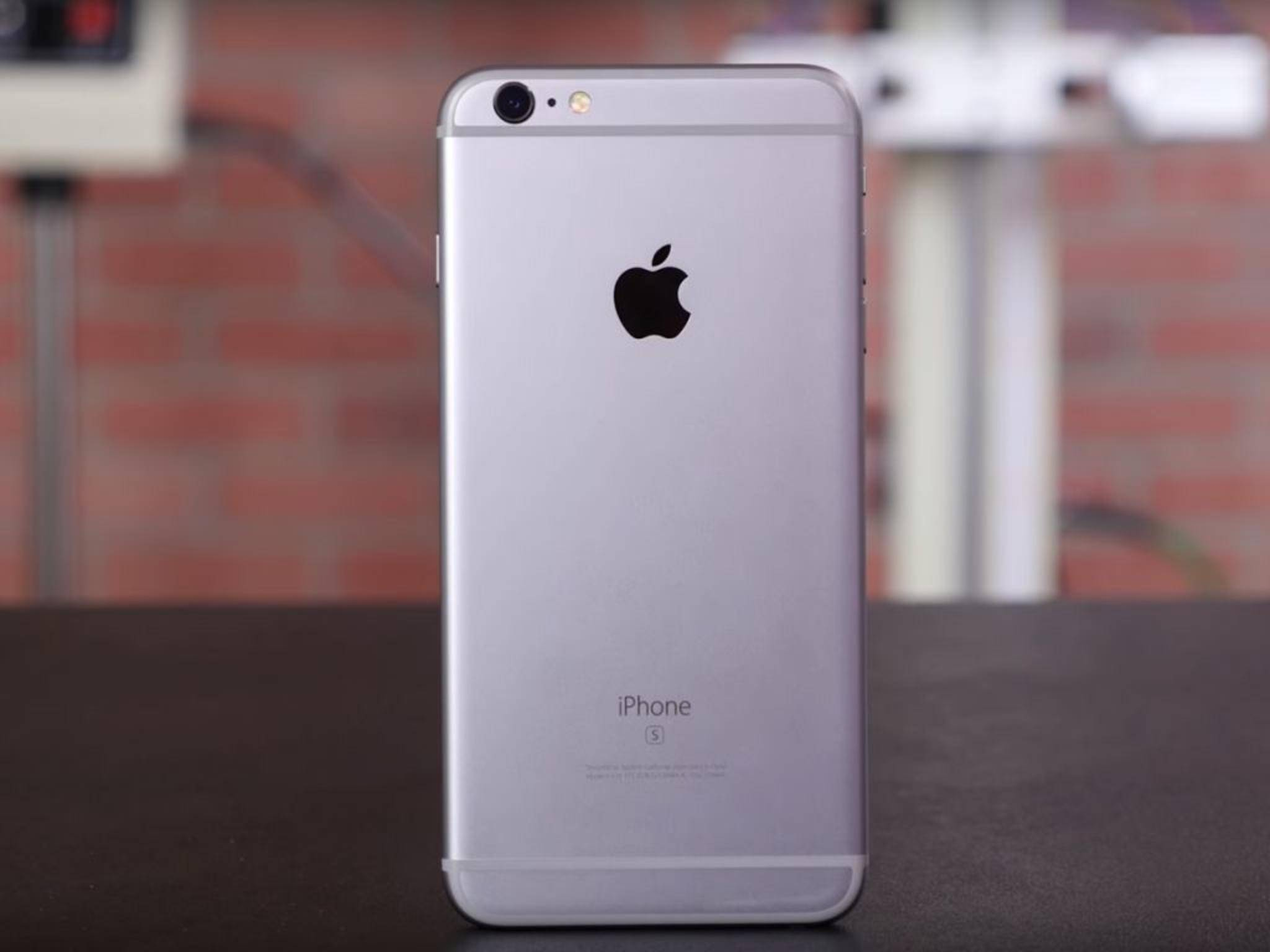 Sieht das iPhone 7 so aus wie das hier gezeigte iPhone 6s?