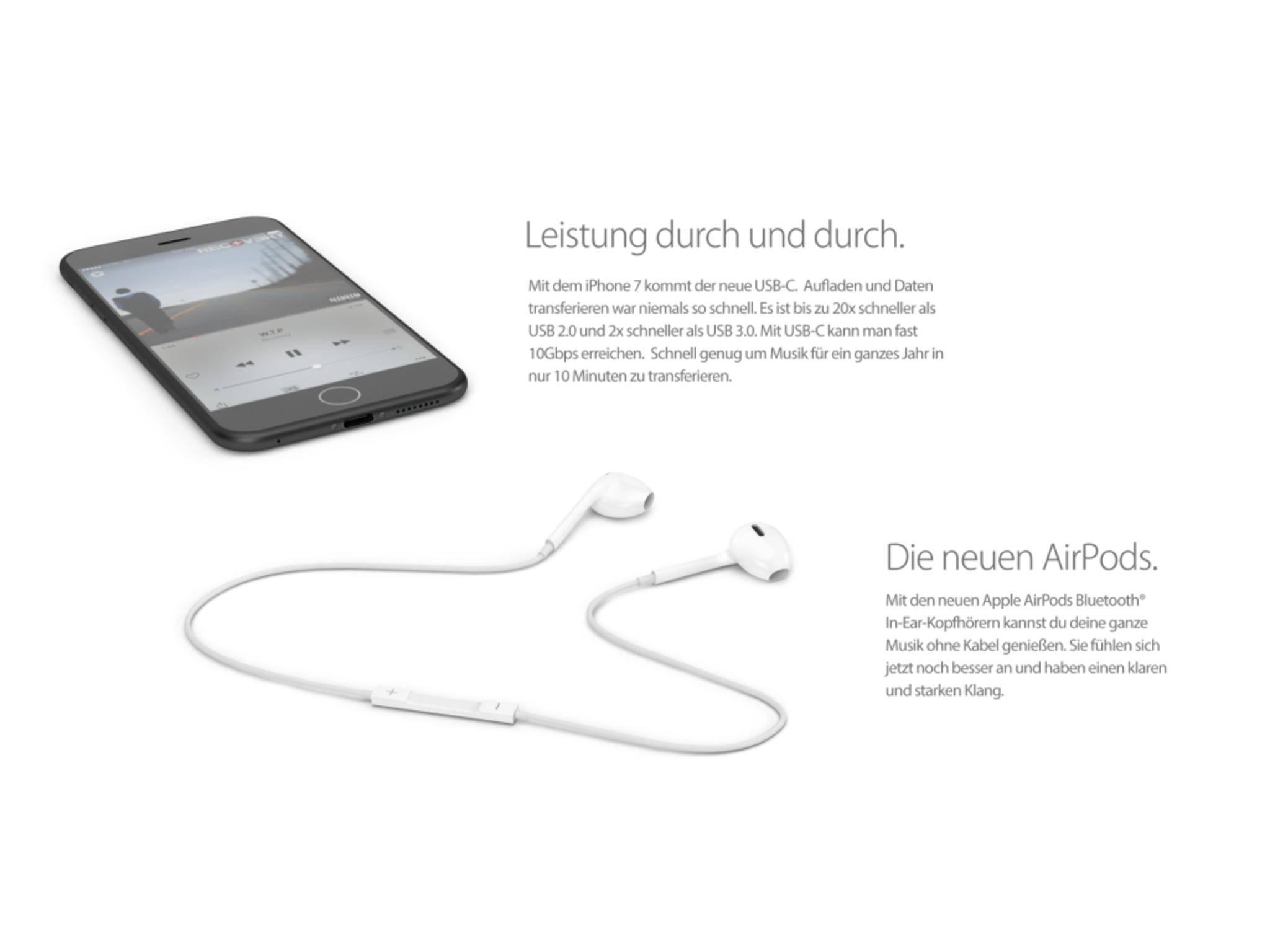 Das nächste Apple-Smartphone könnte ohne Kopfhöreranschluss...