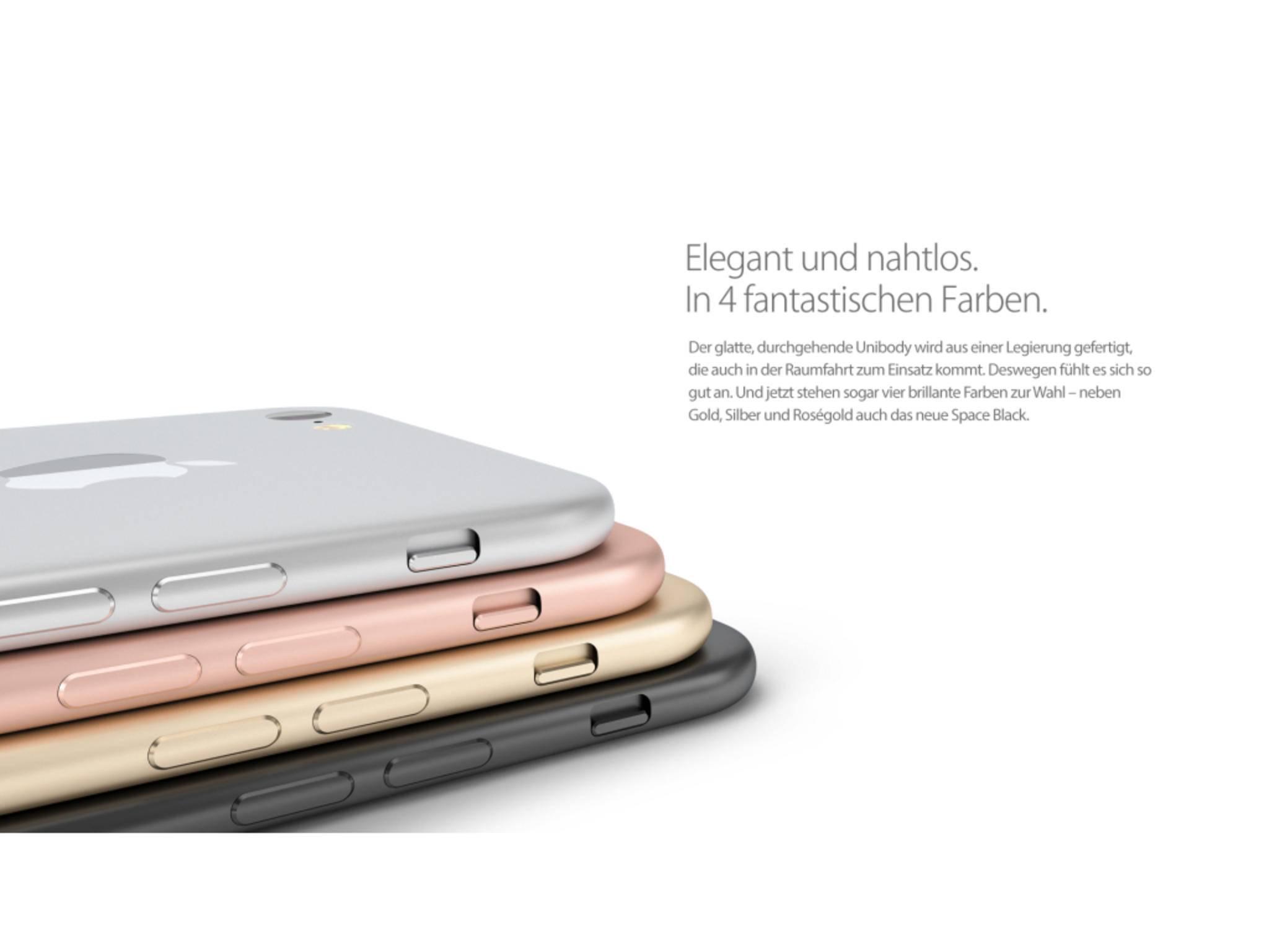 Eine vierte Farbe für das iPhone 7?