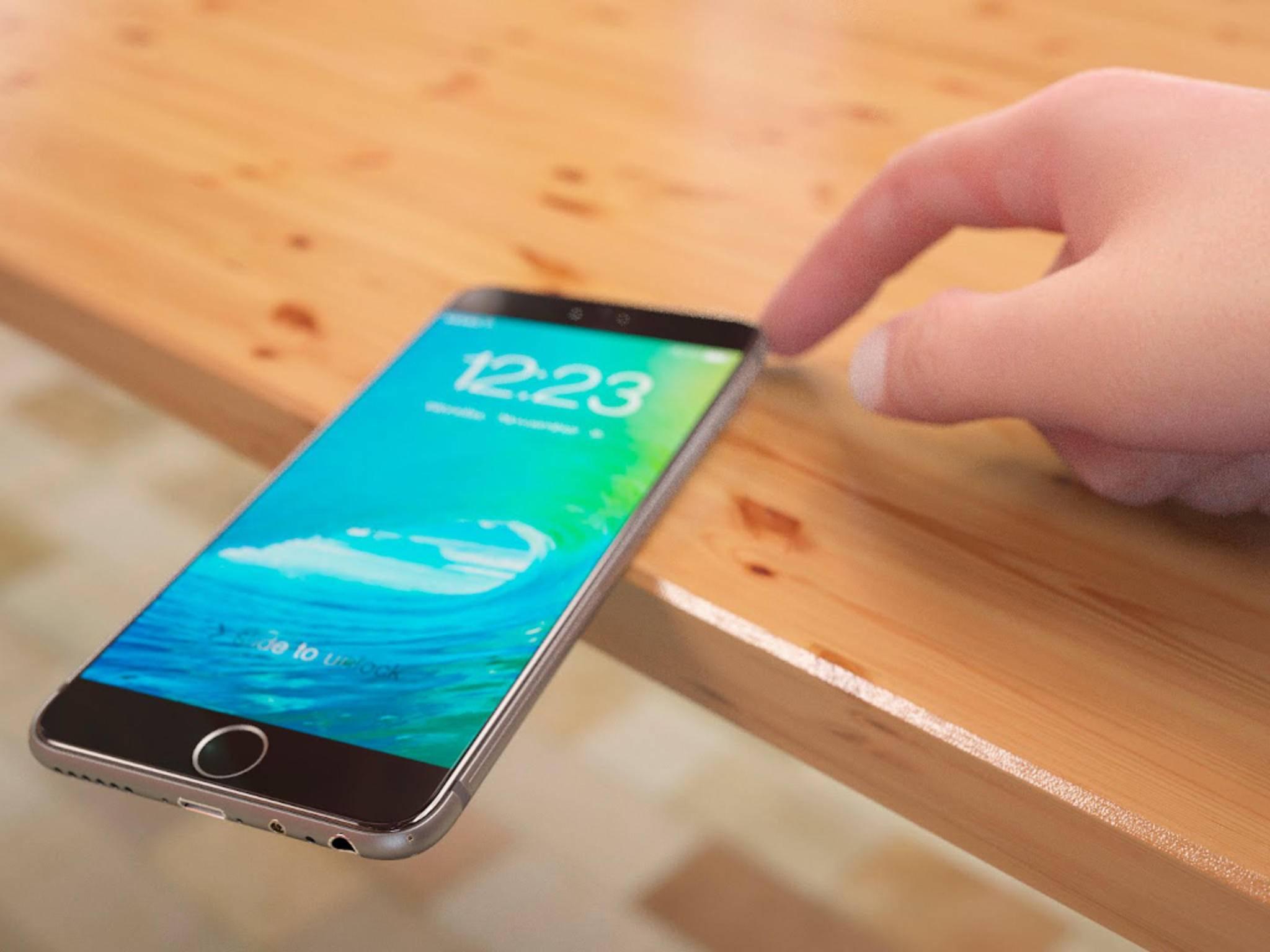 Das iPhone 7 dürfte sich womöglich auch mit nassen Fingern bedienen lassen.