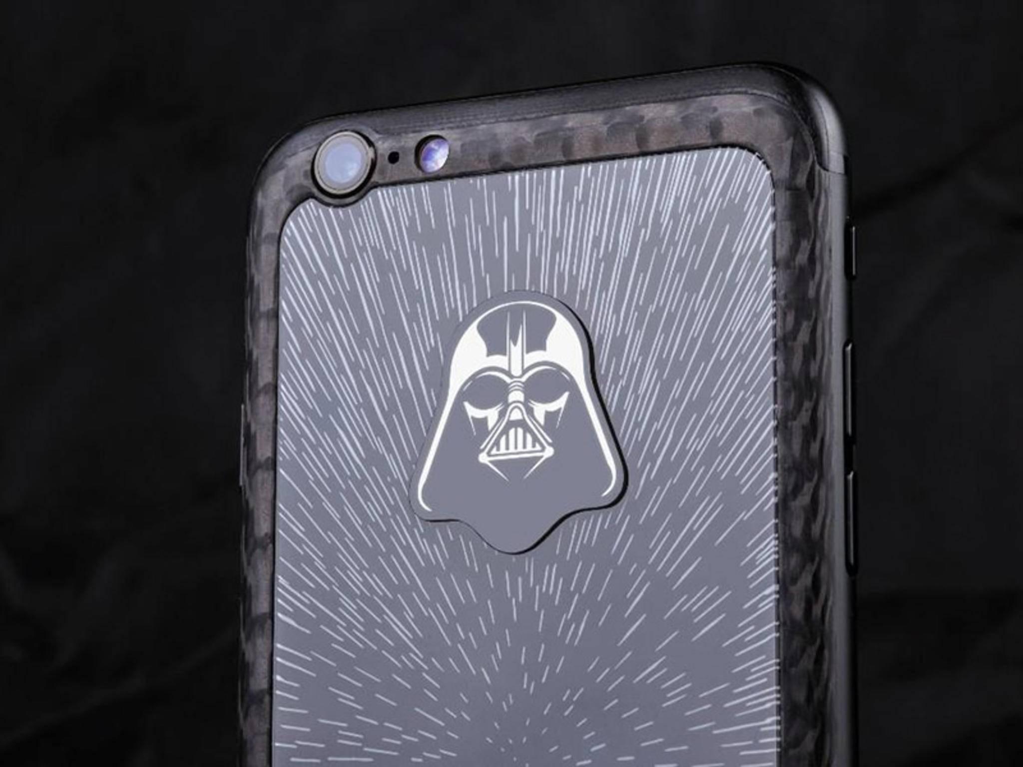 """Dieses iPhone 6s ist eine Sonderanfertigung für einen """"Star Wars""""-Fan."""