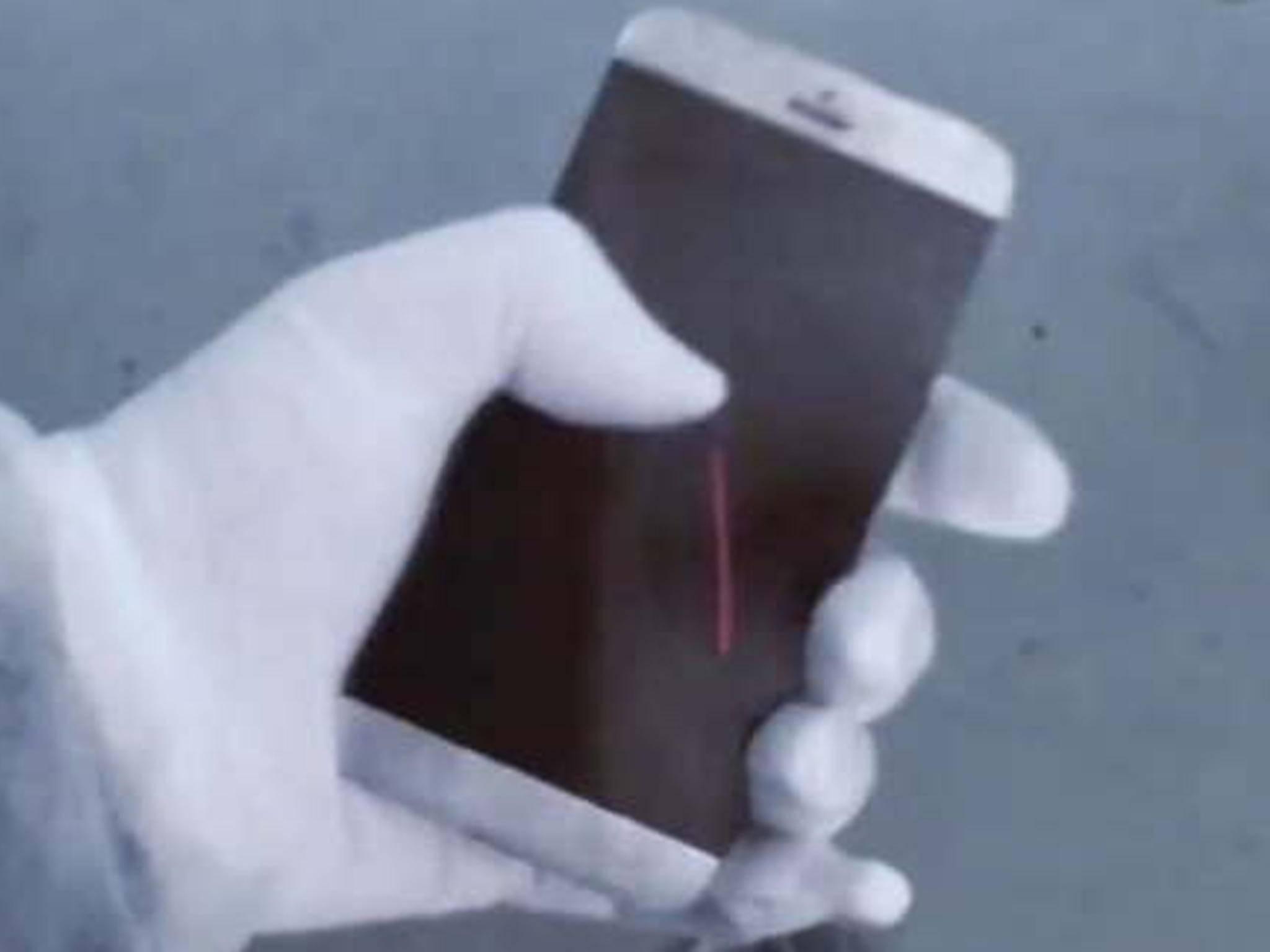 So sieht das angebliche iPhone 7 aus dem Video aus.