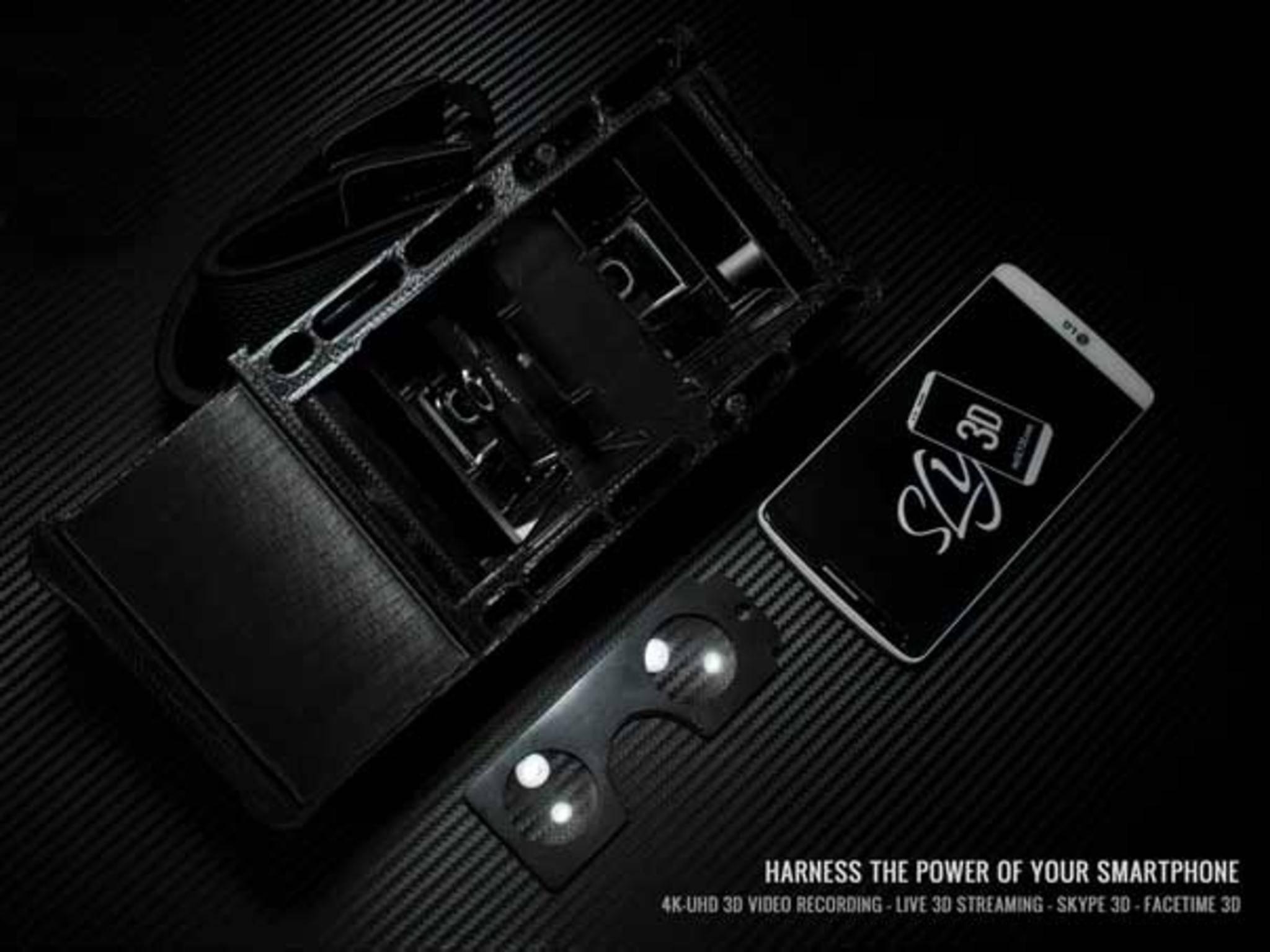 SLY3D wird entweder als einfaches Gerät geliefert ...