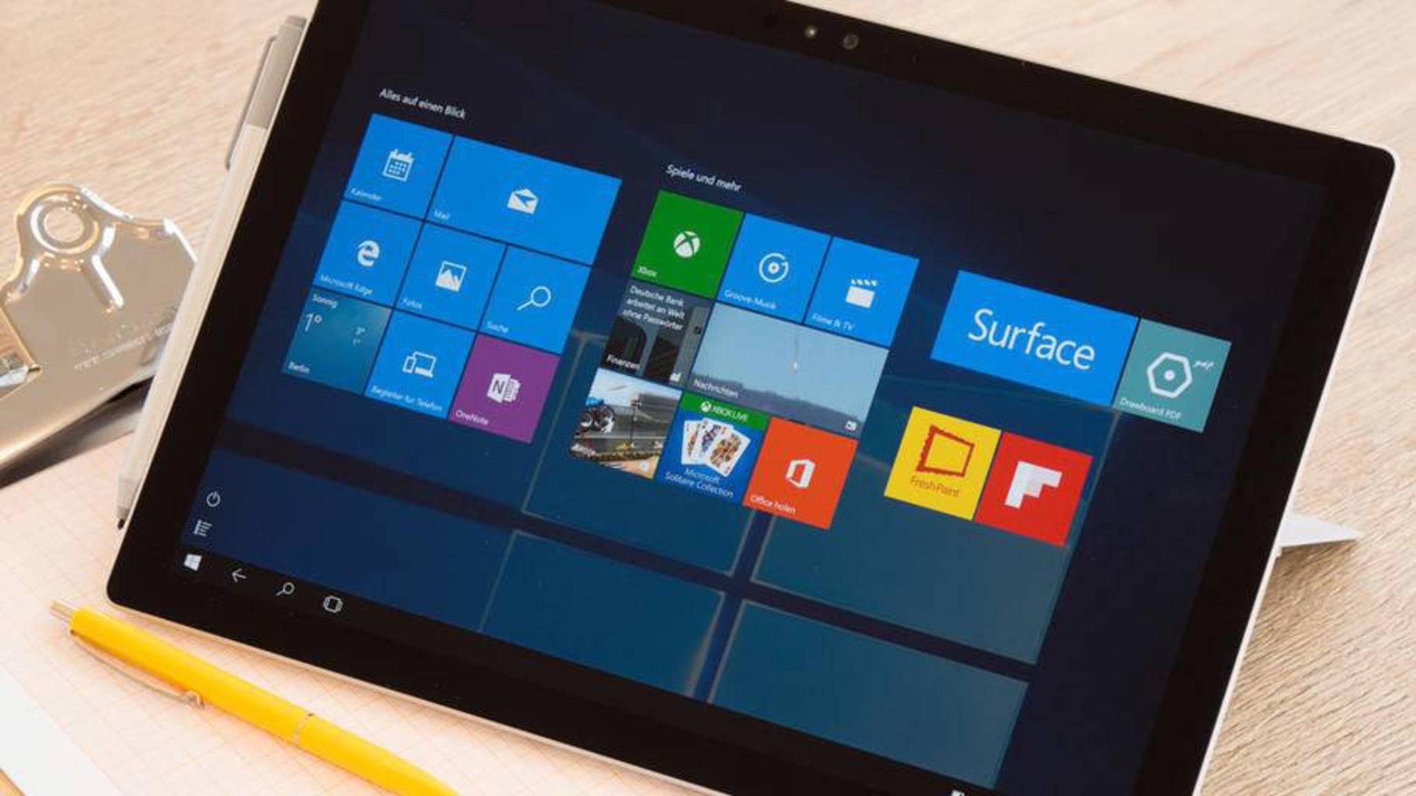 Das Surface Pro 4 ist bereits das vierte Pro-Modell von Microsofts Surface-Reihe.
