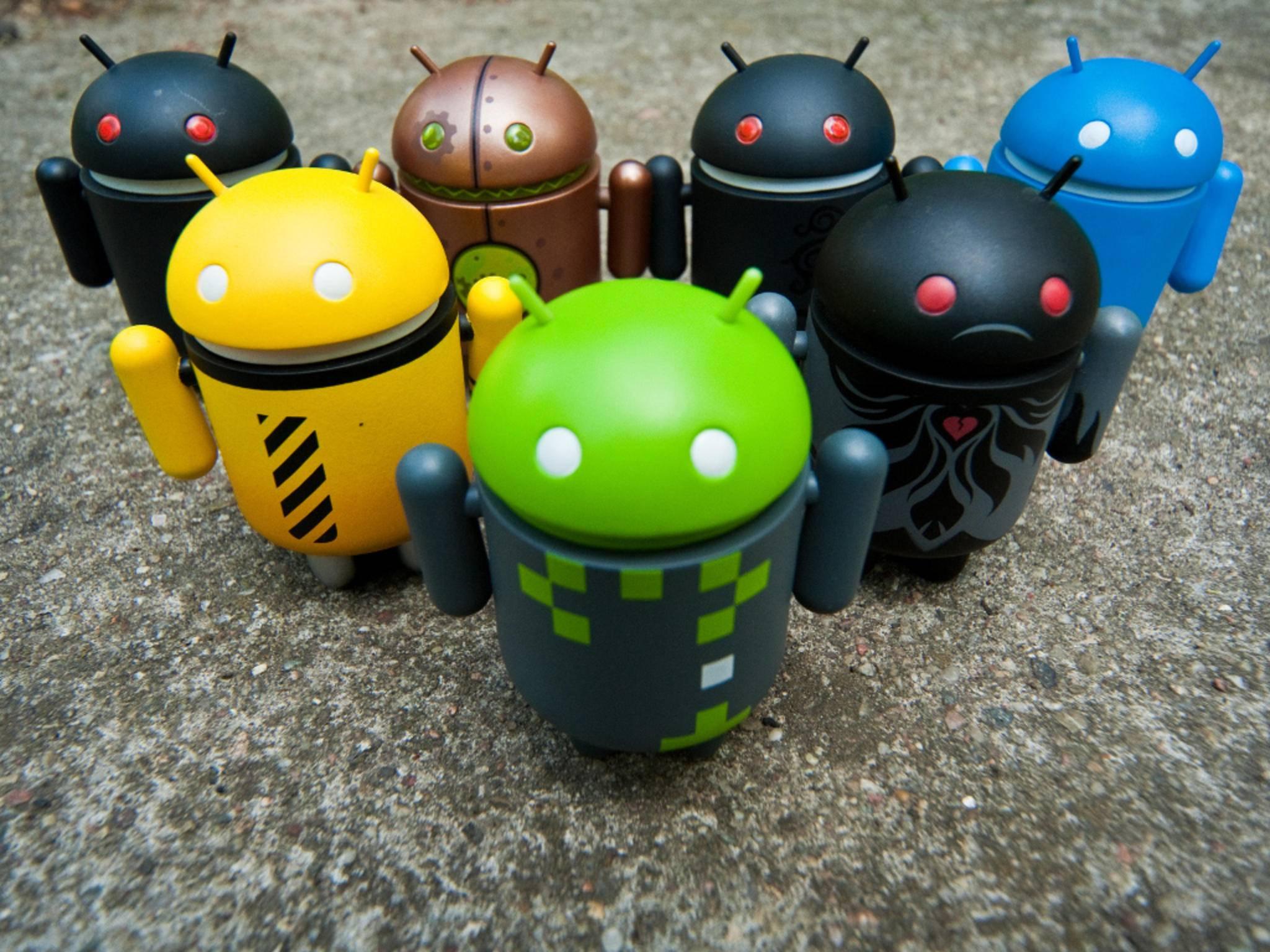 In Android gibt es mehr als nur einen Standard.