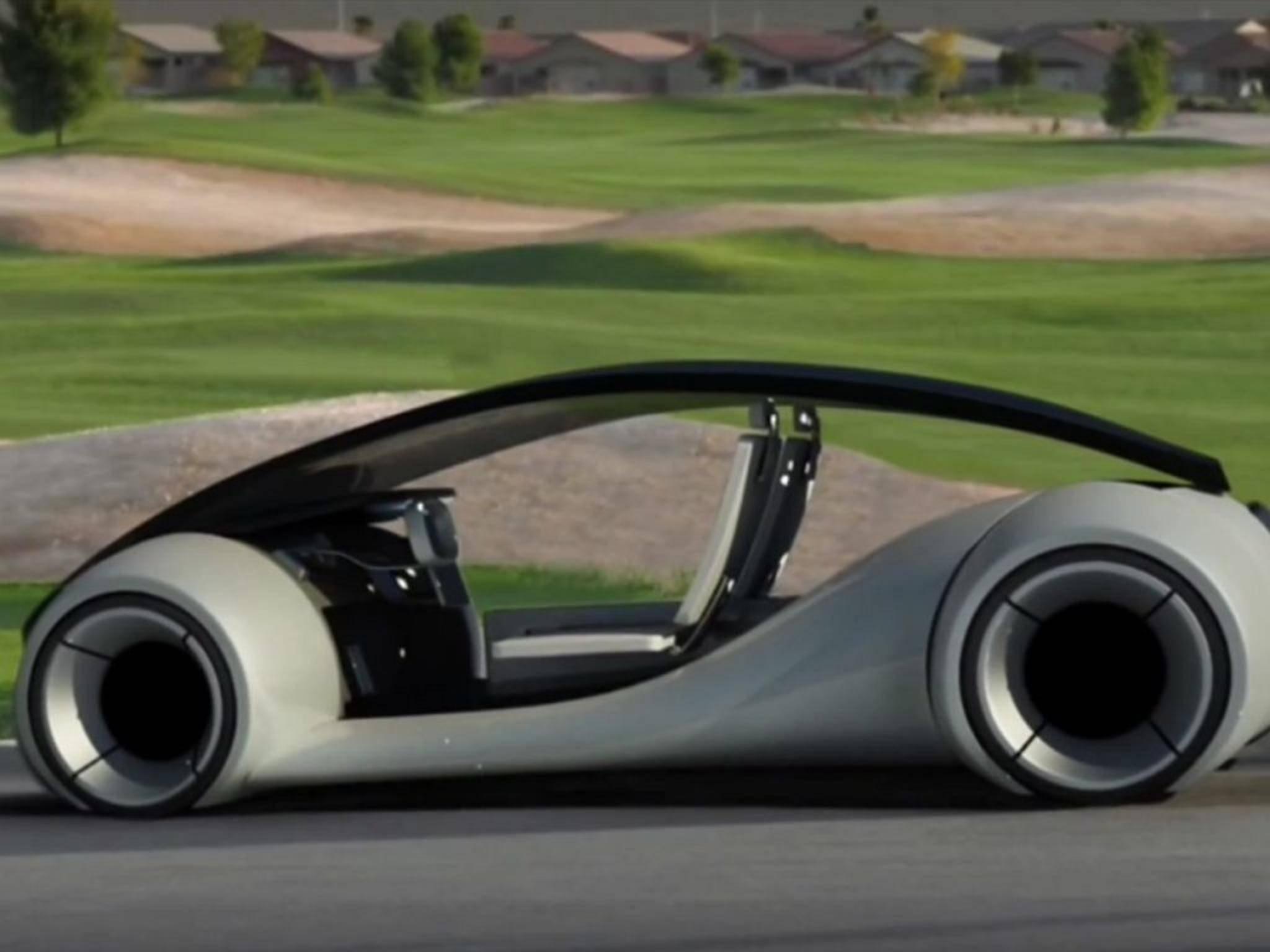 Wie würde ein Auto des iPhone-Bauers wohl aussehen? Bisher existieren nur Konzepte.