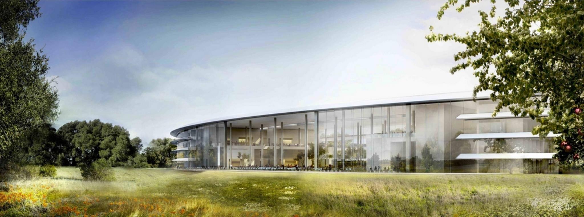 Der neue Apple-Campus: Welches geheime Satellitenprojekt wird hier geplant?