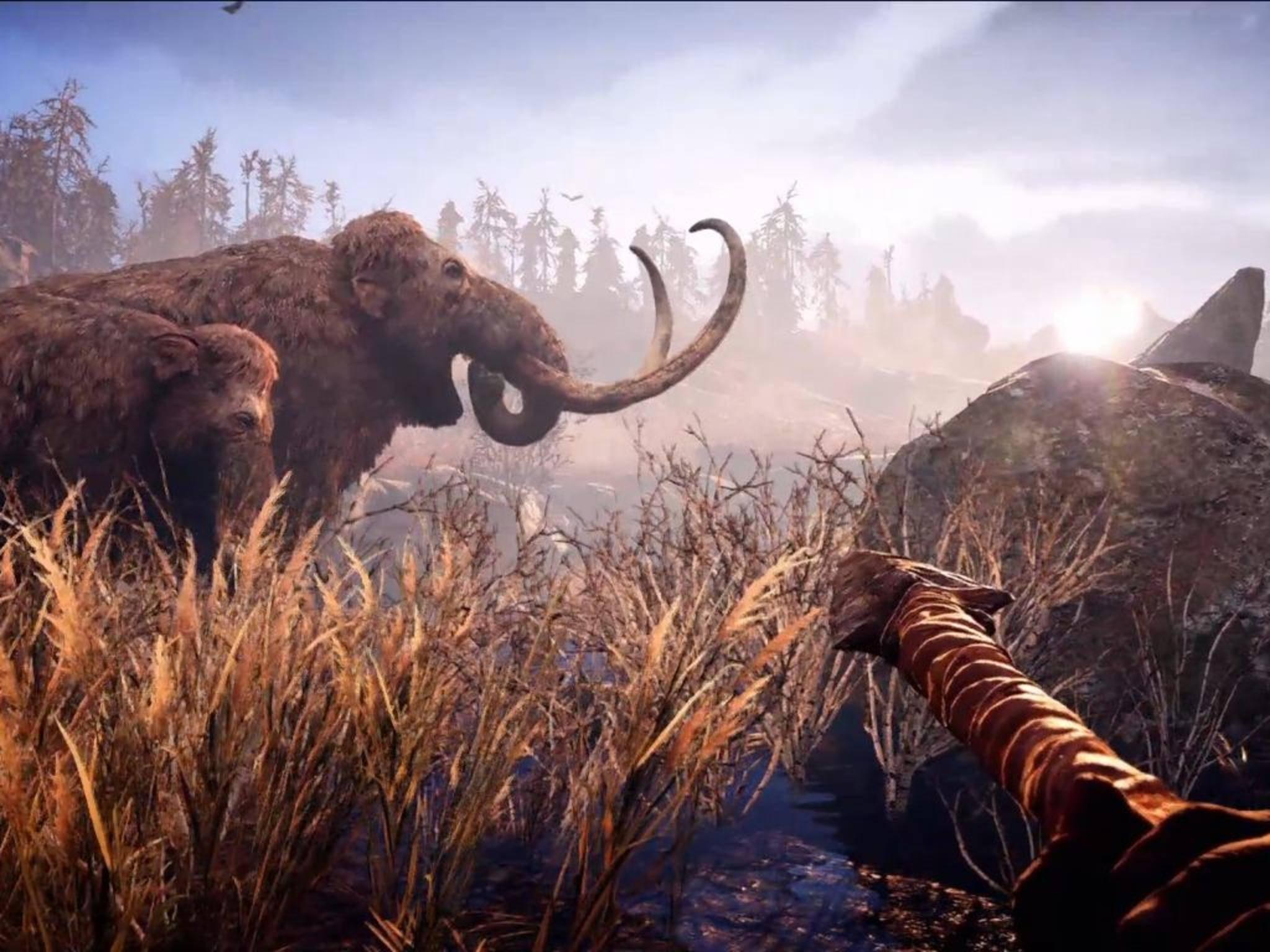 """""""Far Cry Primal"""" entführt den Spieler in die Steinzeit."""