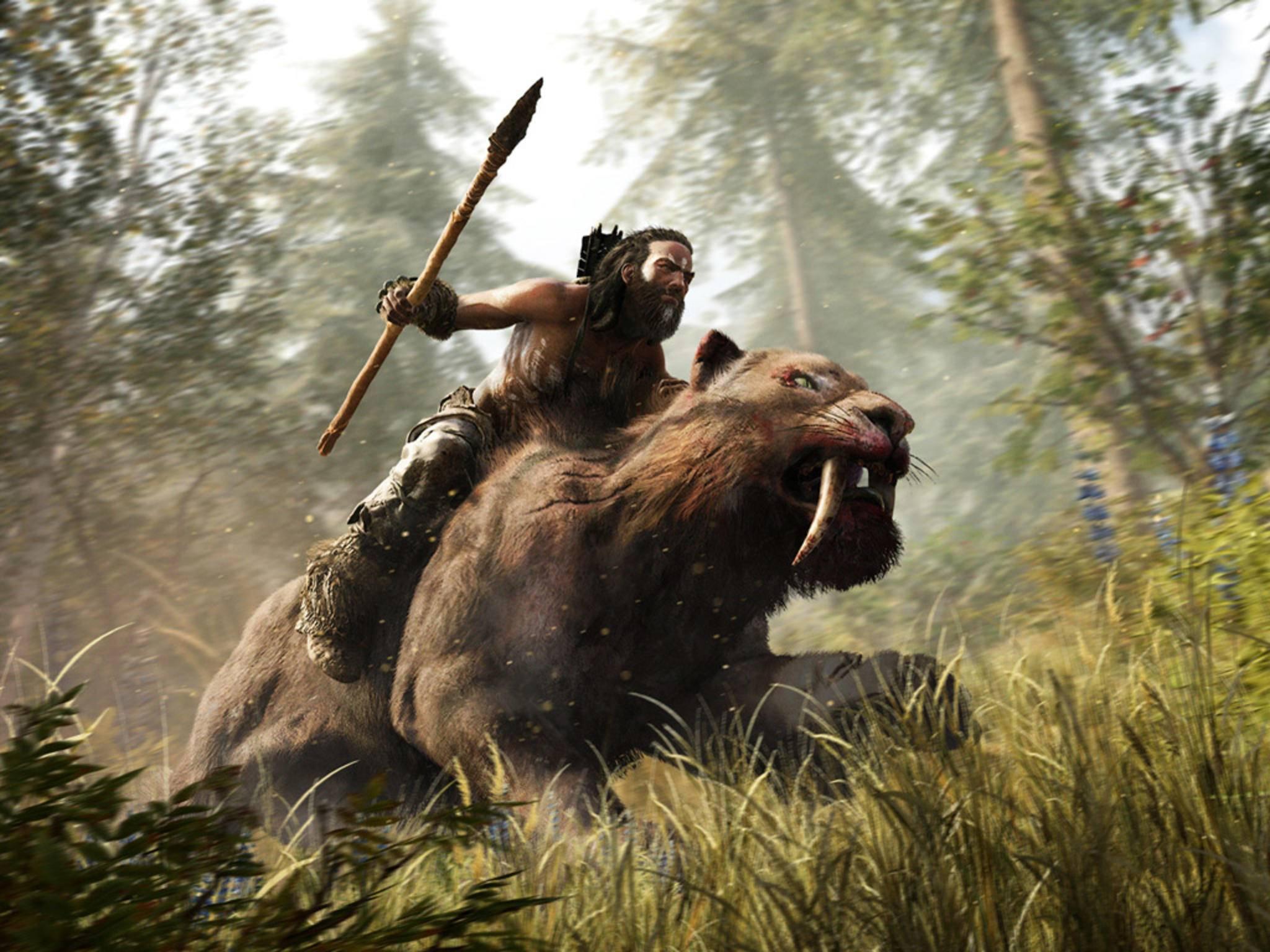 """TURN ON konnte den Blockbuster """"Far Cry Primal"""" bereits vorab auf der PS4 antesten."""
