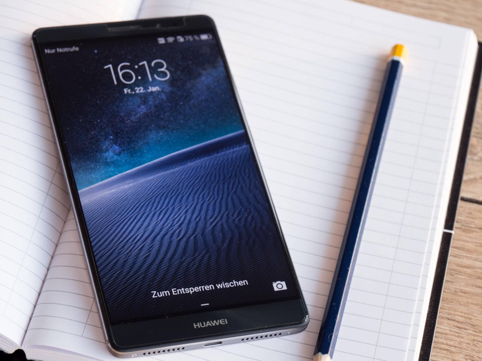 Der Nachfolger vom Huawei Mate 8 soll im vierten Quartal erscheinen.