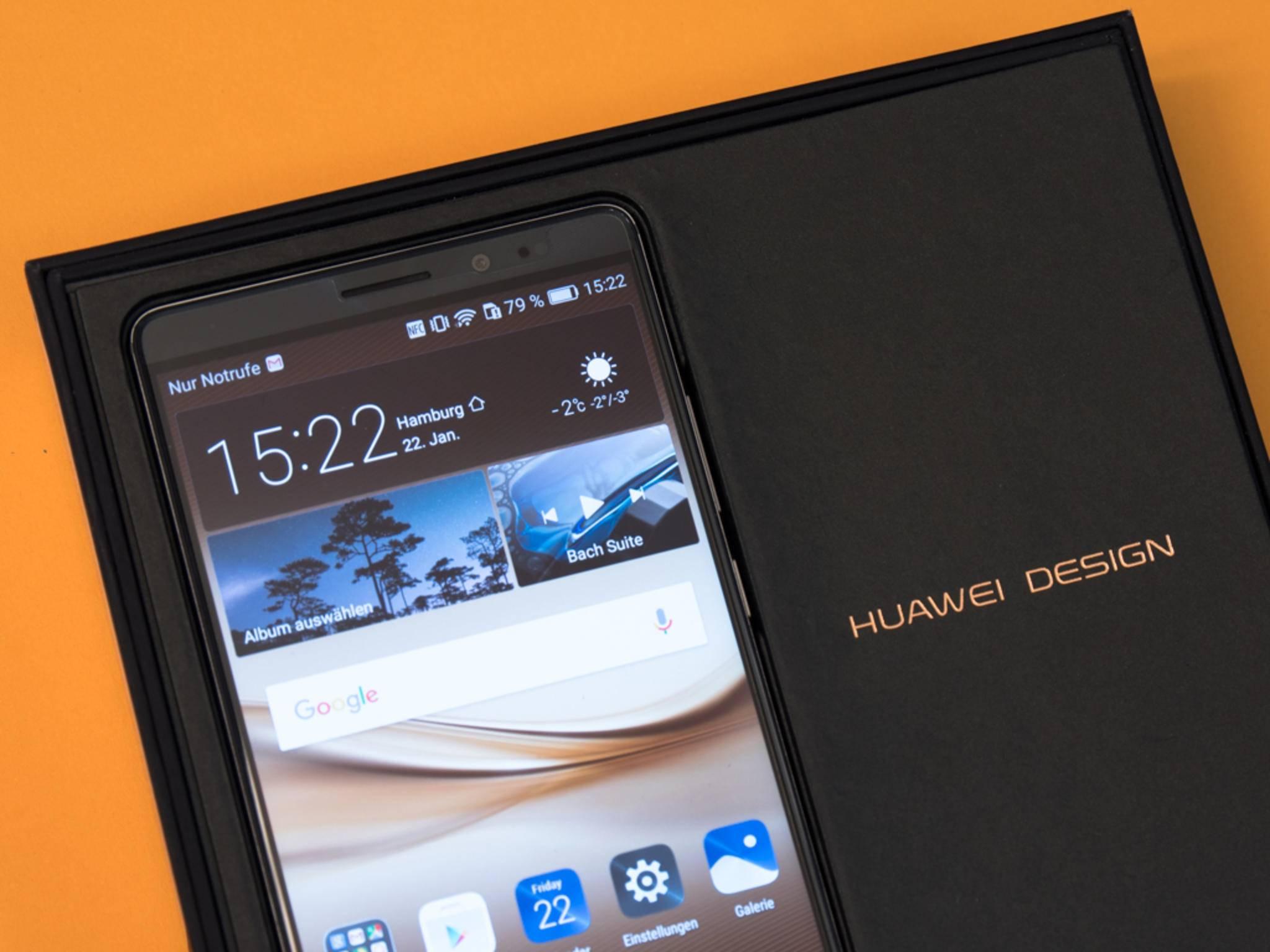 Huawei sieht sich mittlerweile im Premiumsegment.