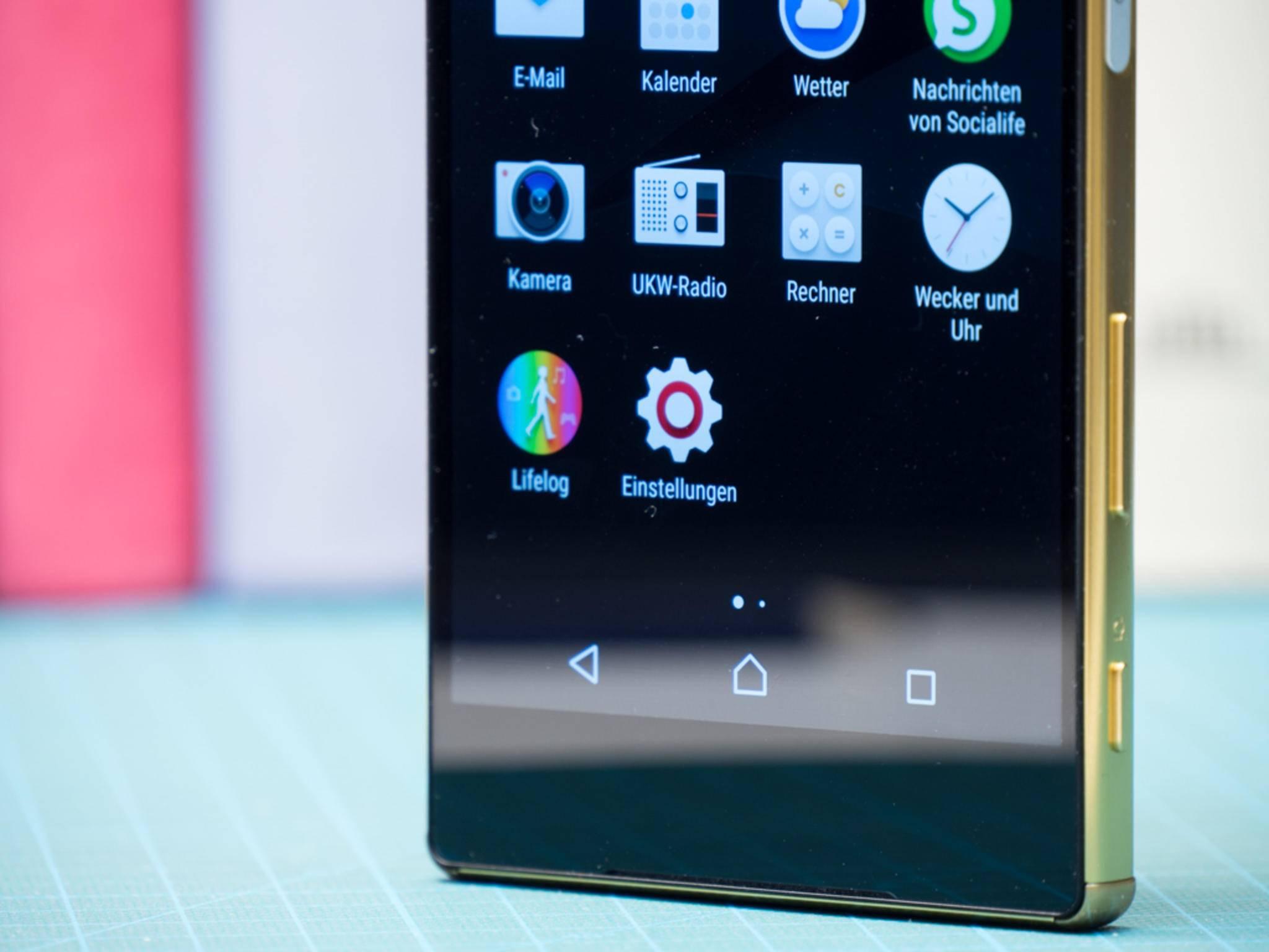 Als erstes Smartphone besitzt das Xperia Z5 Premium ein 4K-Display.