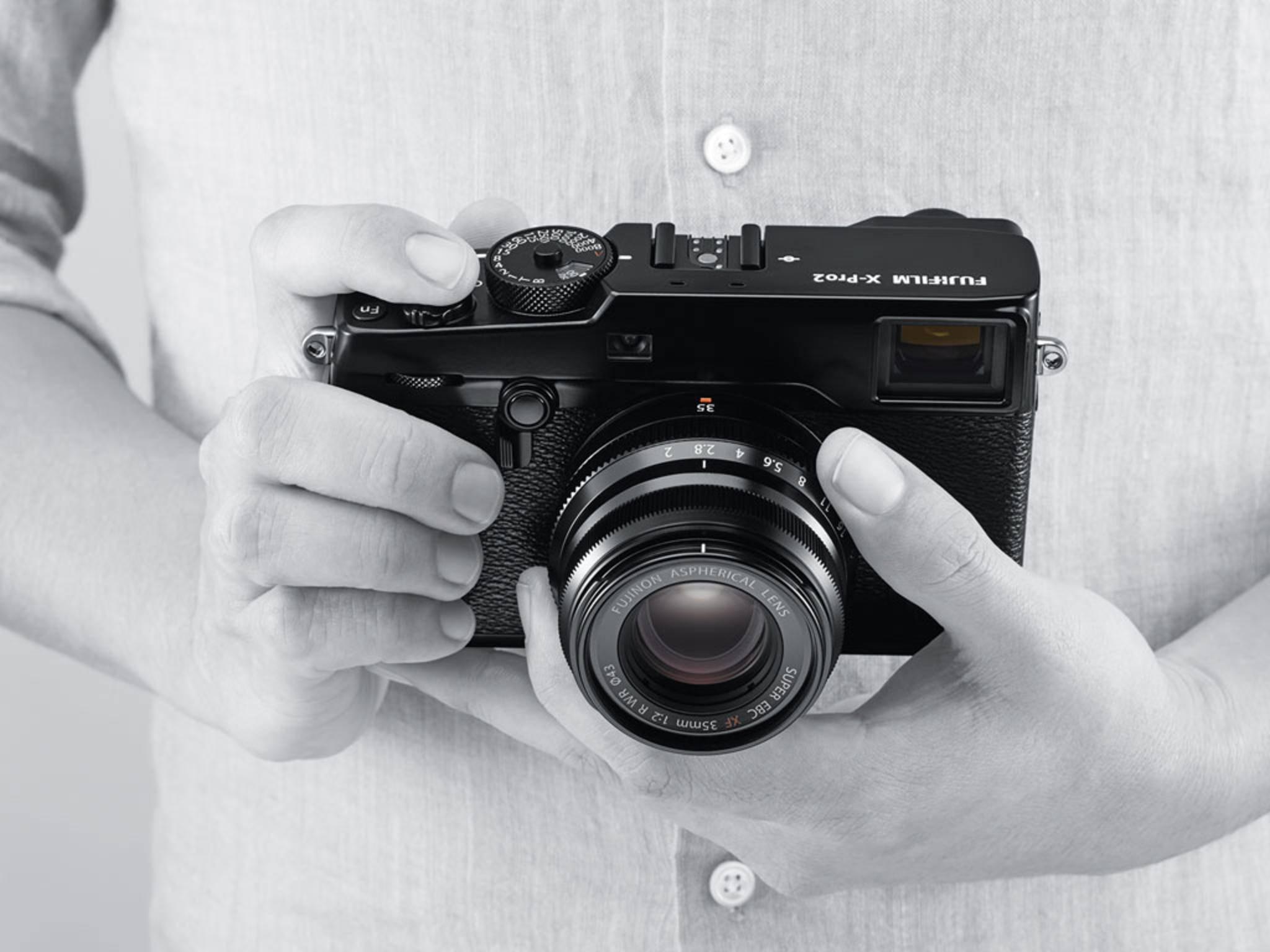 Mit der Fujifilm X-Pro2 kommt nach ...