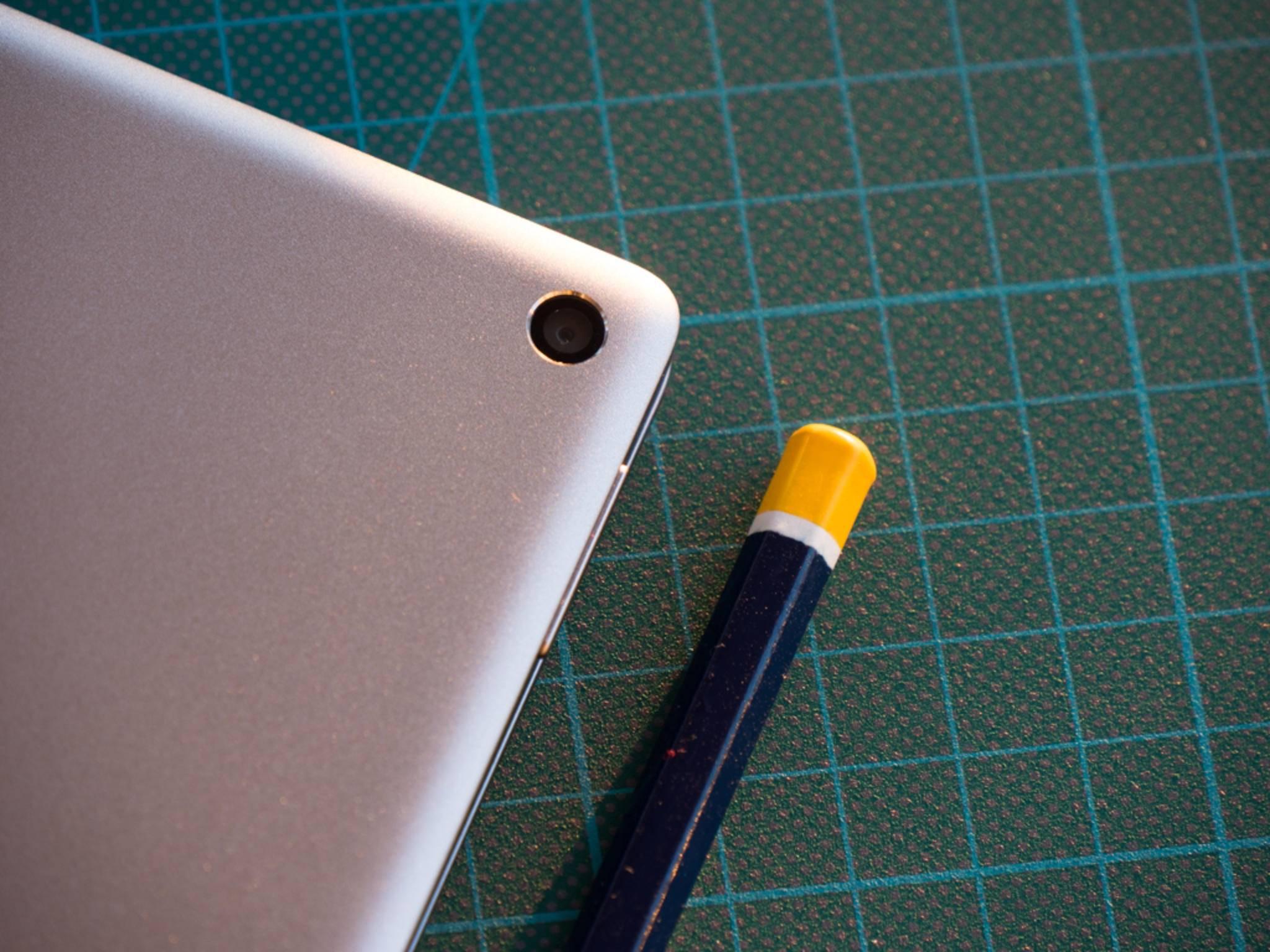 Das Pixel C hat die für ein Tablet typische Kamera in der Ecke.