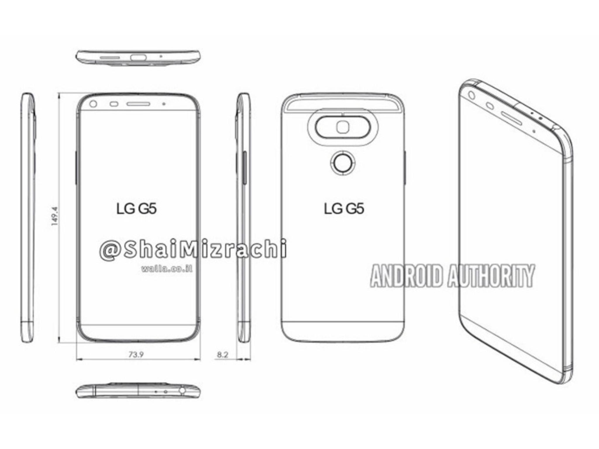 Sieht so das neue LG G5 aus?