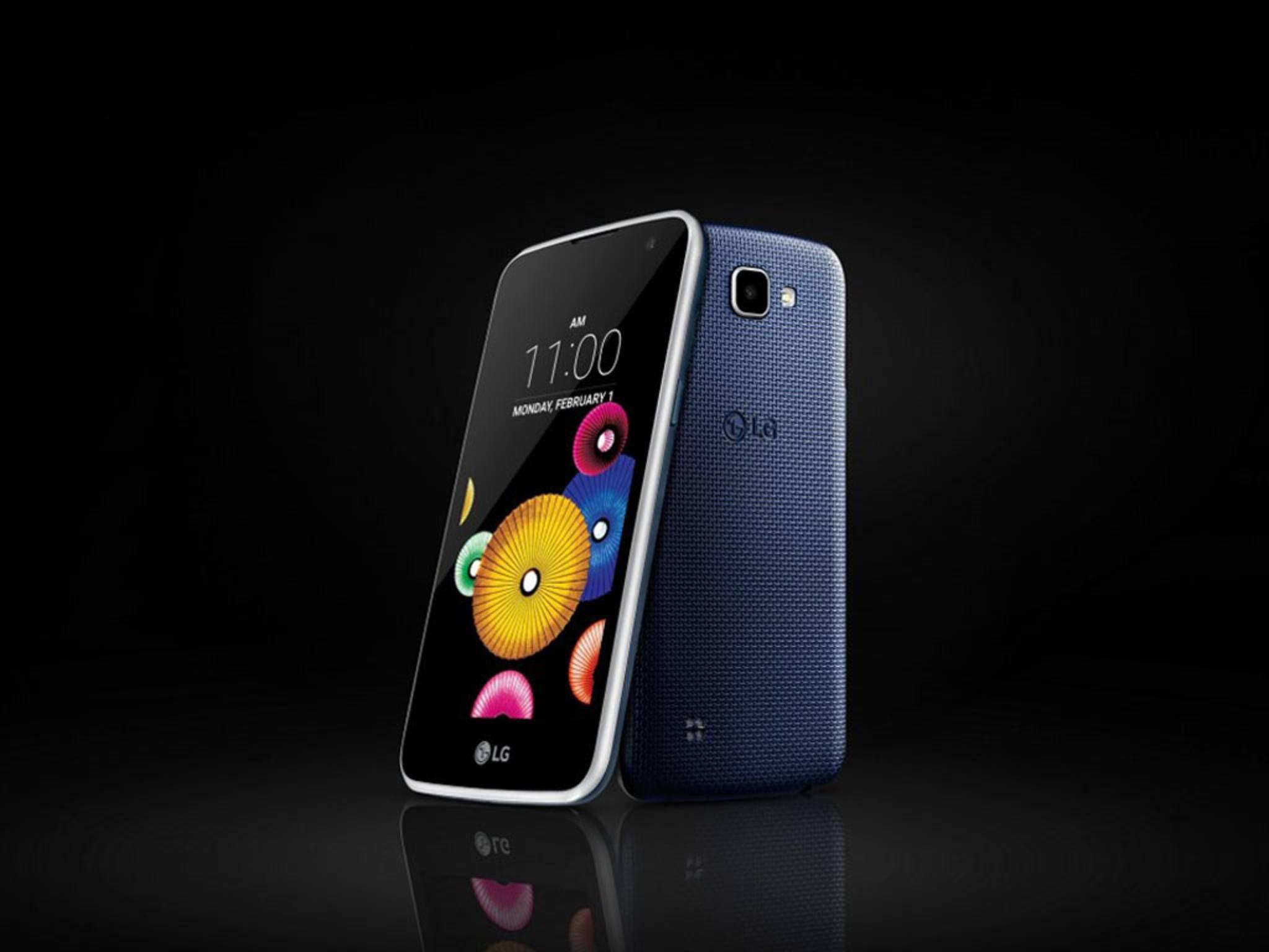Das LG K4 ist ein erschwingliches Smartphone auch und gerade für Einsteiger.