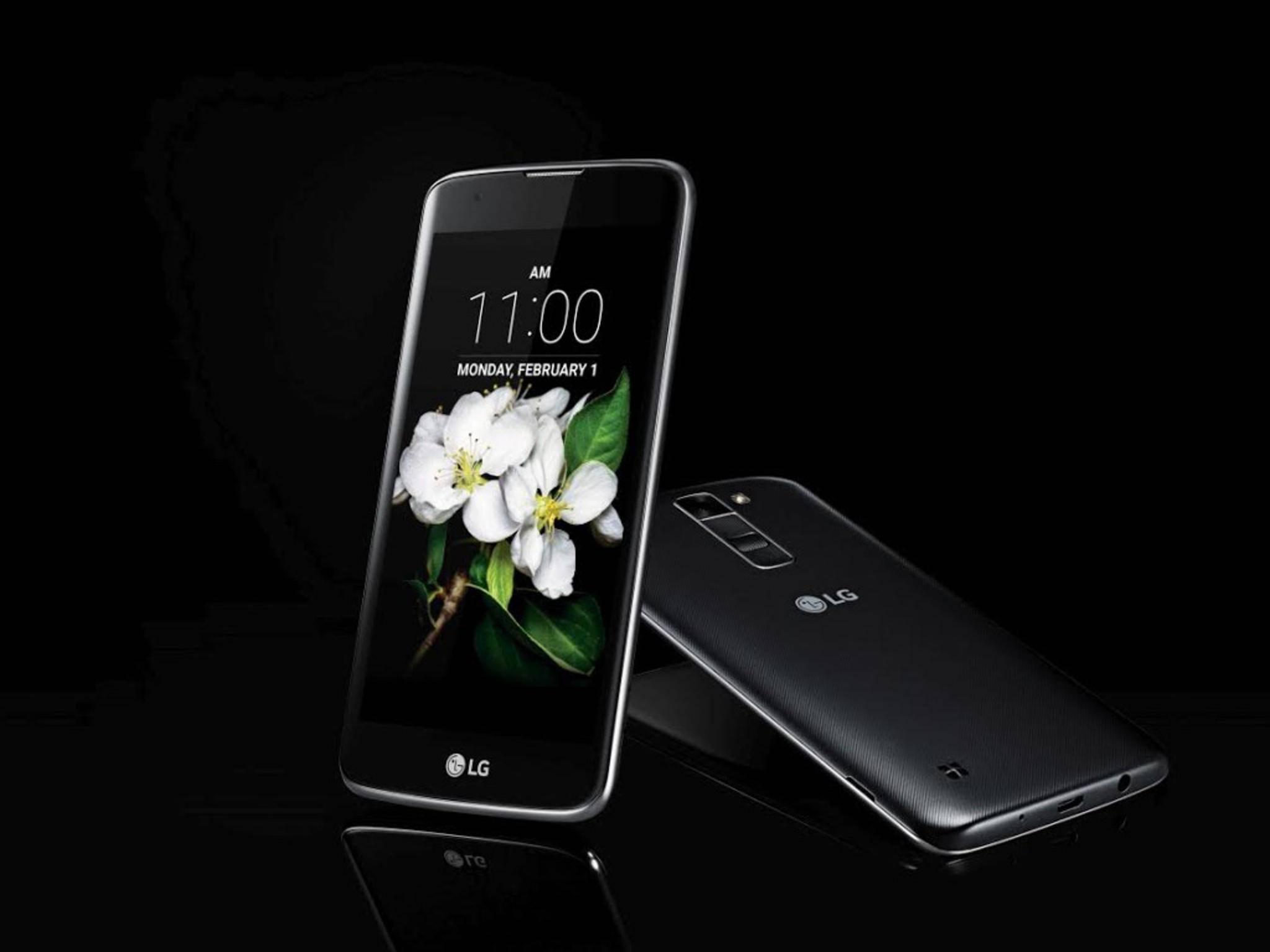 Das LG K7 gehört zur neuen ...