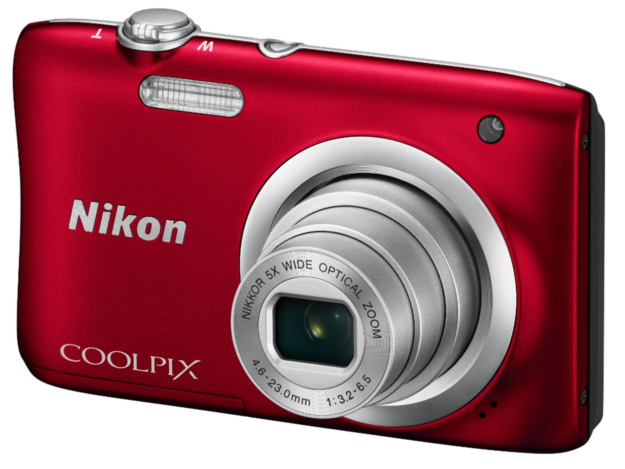 Die Coolpix A100 gehört zu den neuen Kompaktkameras von Nikon.
