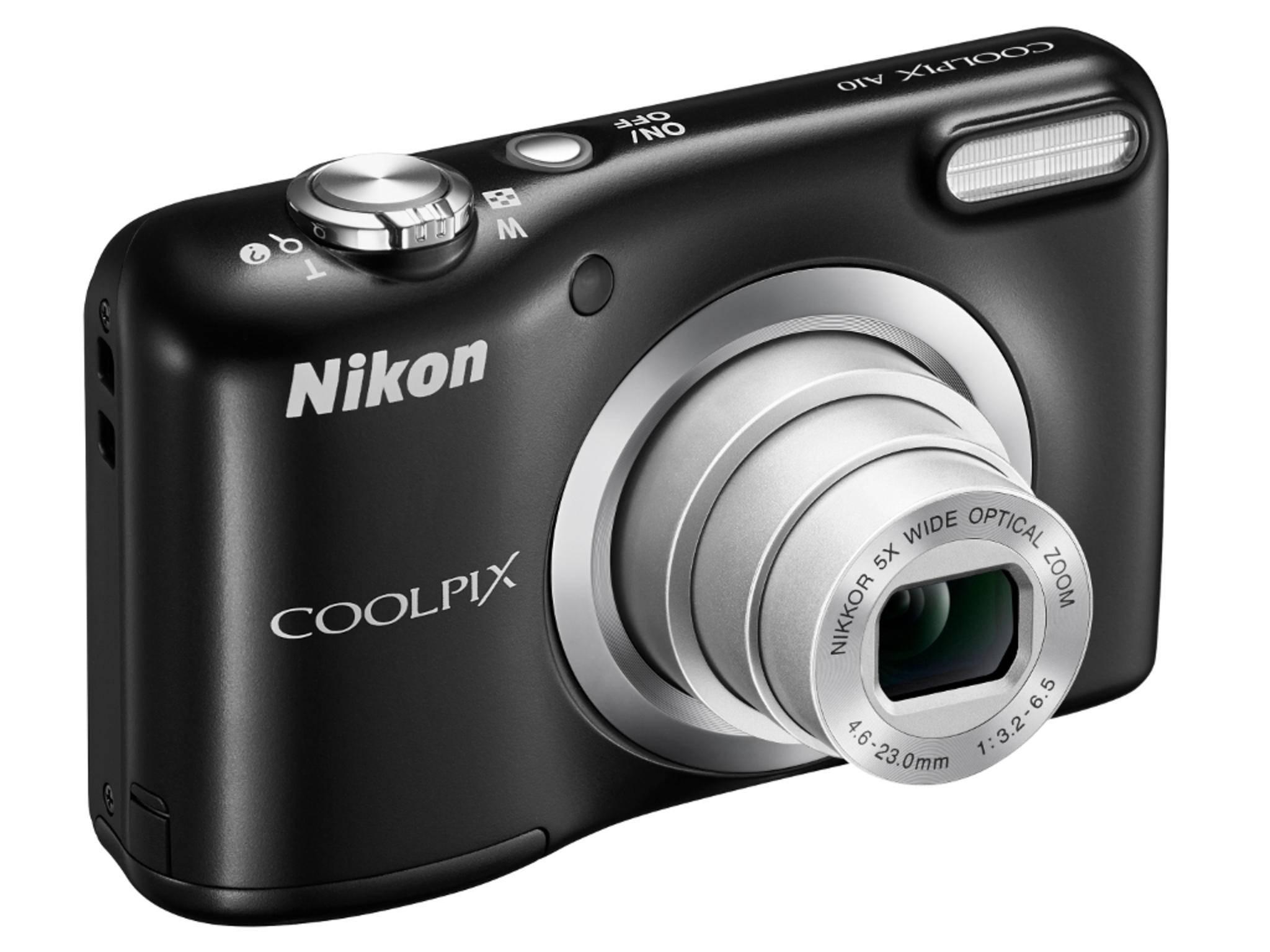 Die Coolpix A10 ist das neue Einstiegsmodell von Nikon.
