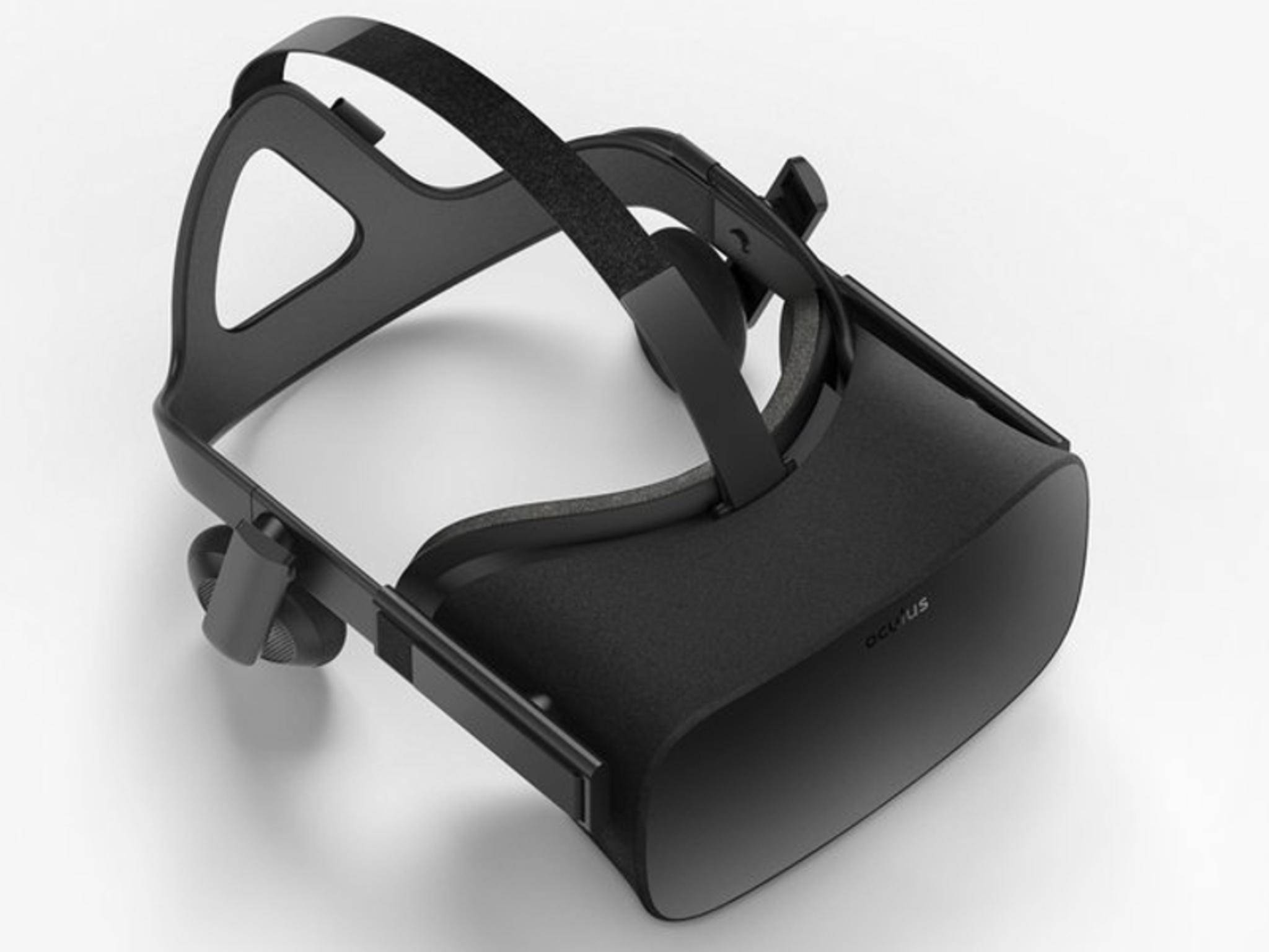 So sieht die finale Oculus Rift aus.