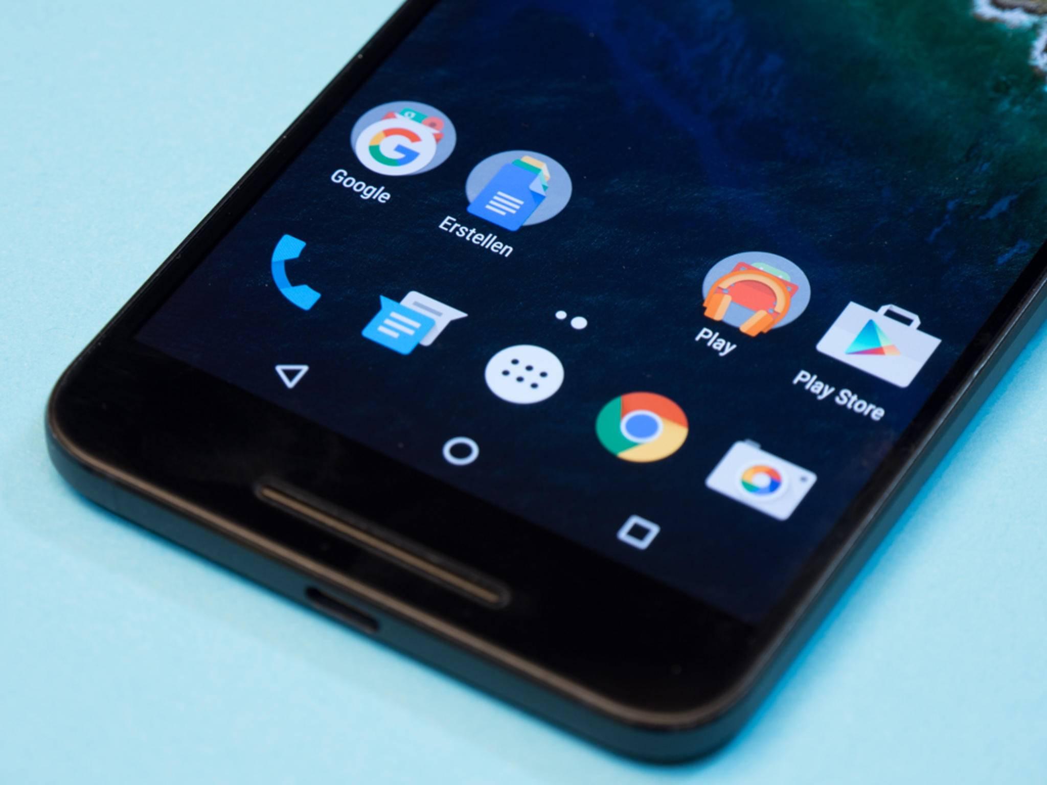 Beim neuen Nexus-Launcher soll das Icon für den App-Drawer verschwinden.