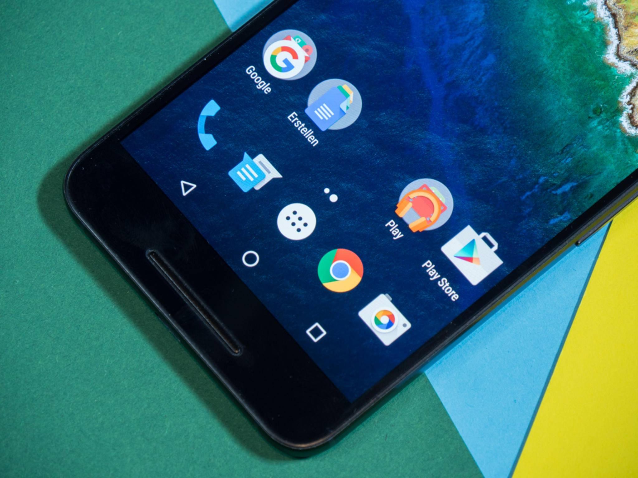 Dank starker Hardware läuft das Nexus 6P äußerst flüssig.