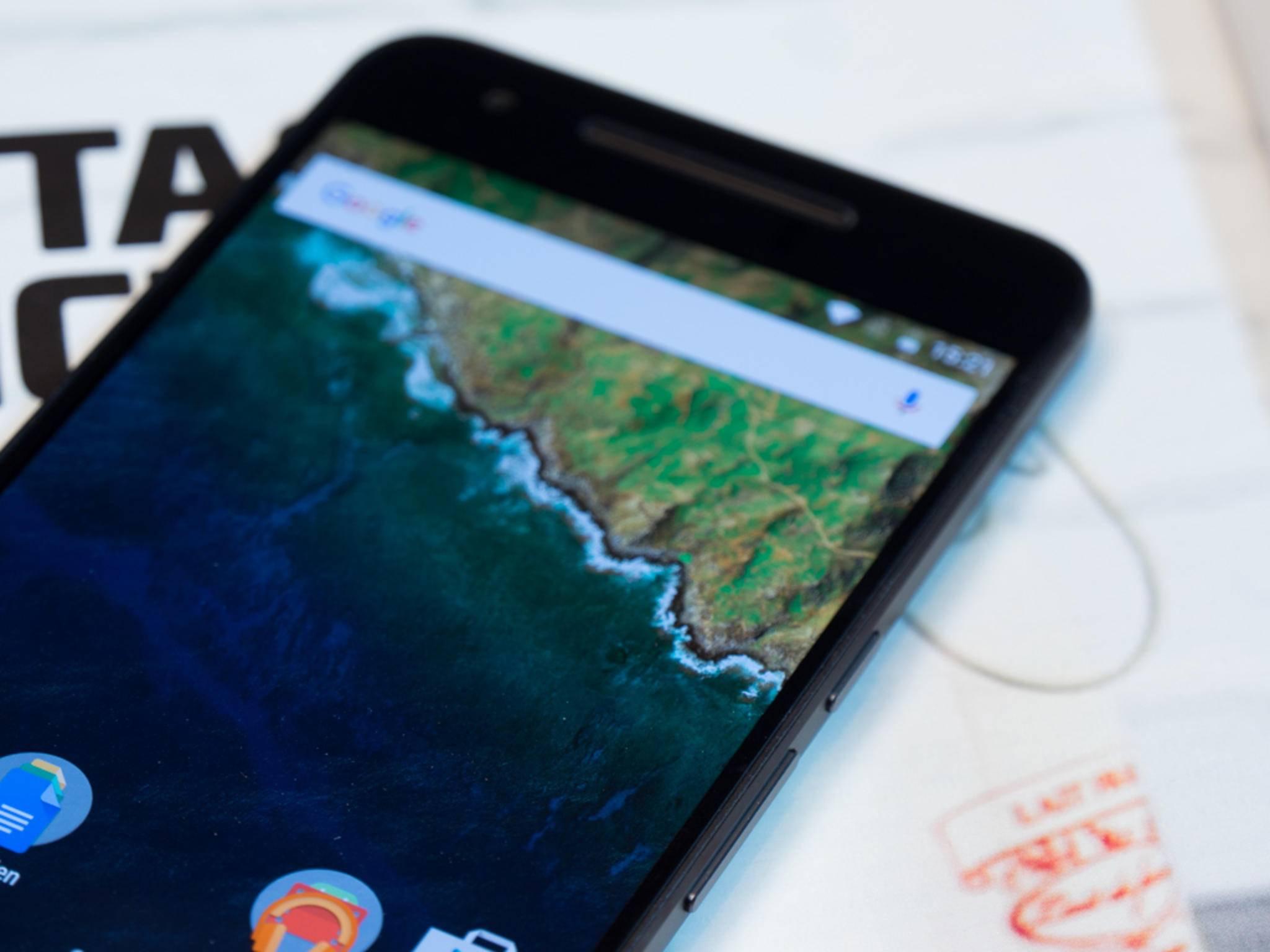Das Nexus 6P wurde von Huawei für Google designt.