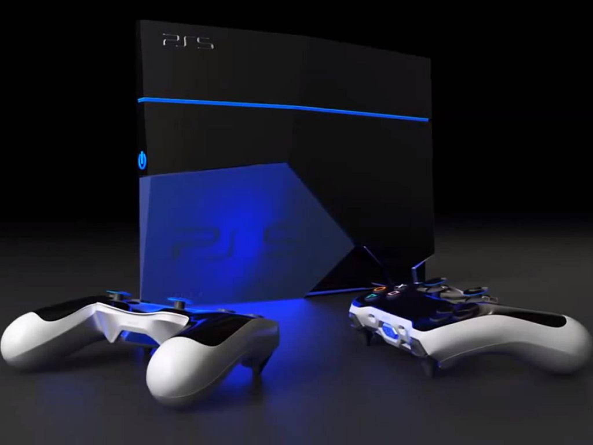 Konzeptbild: Könnte die PlayStation 5 so aussehen?