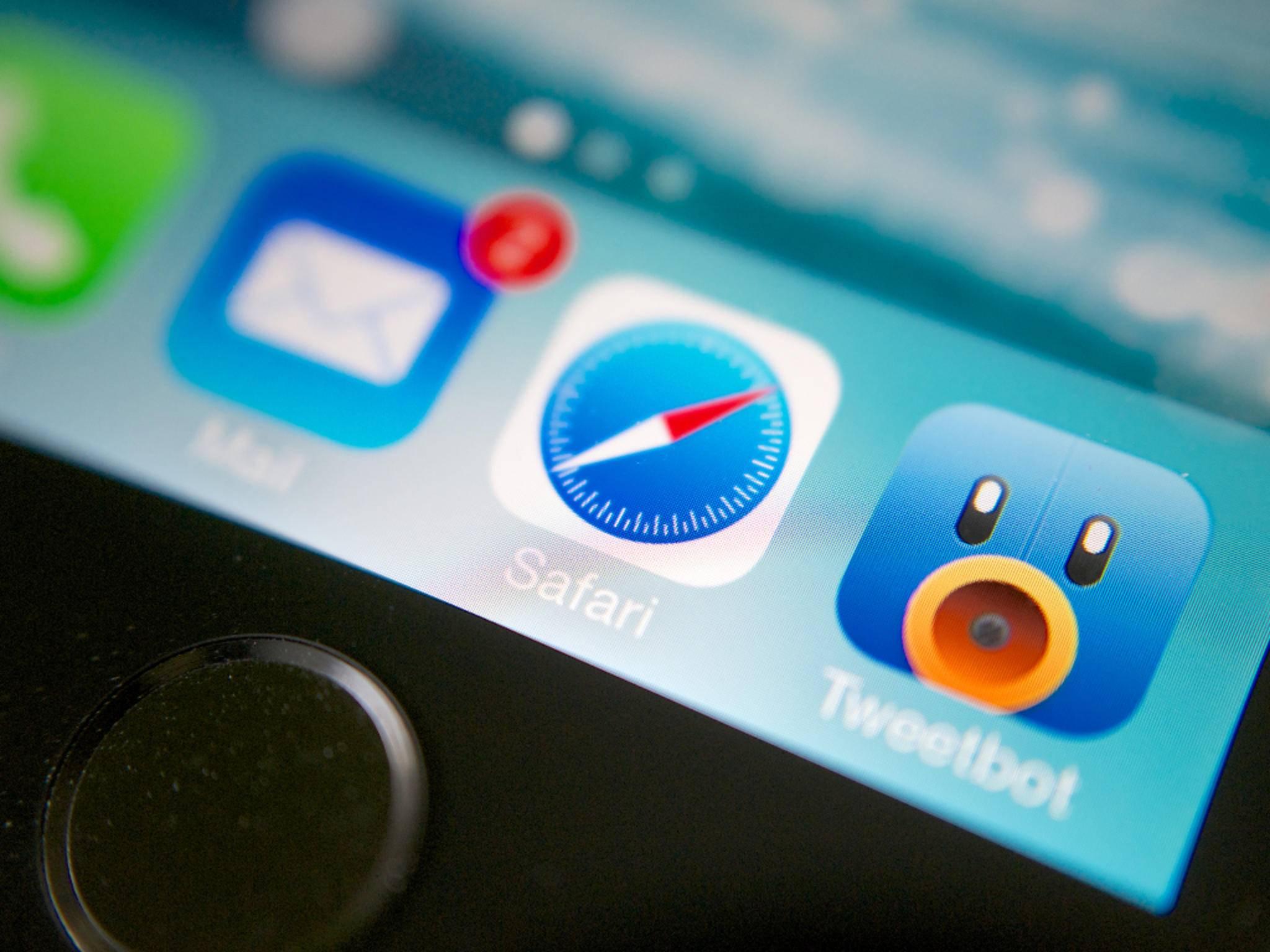 iOS-Browser Safari