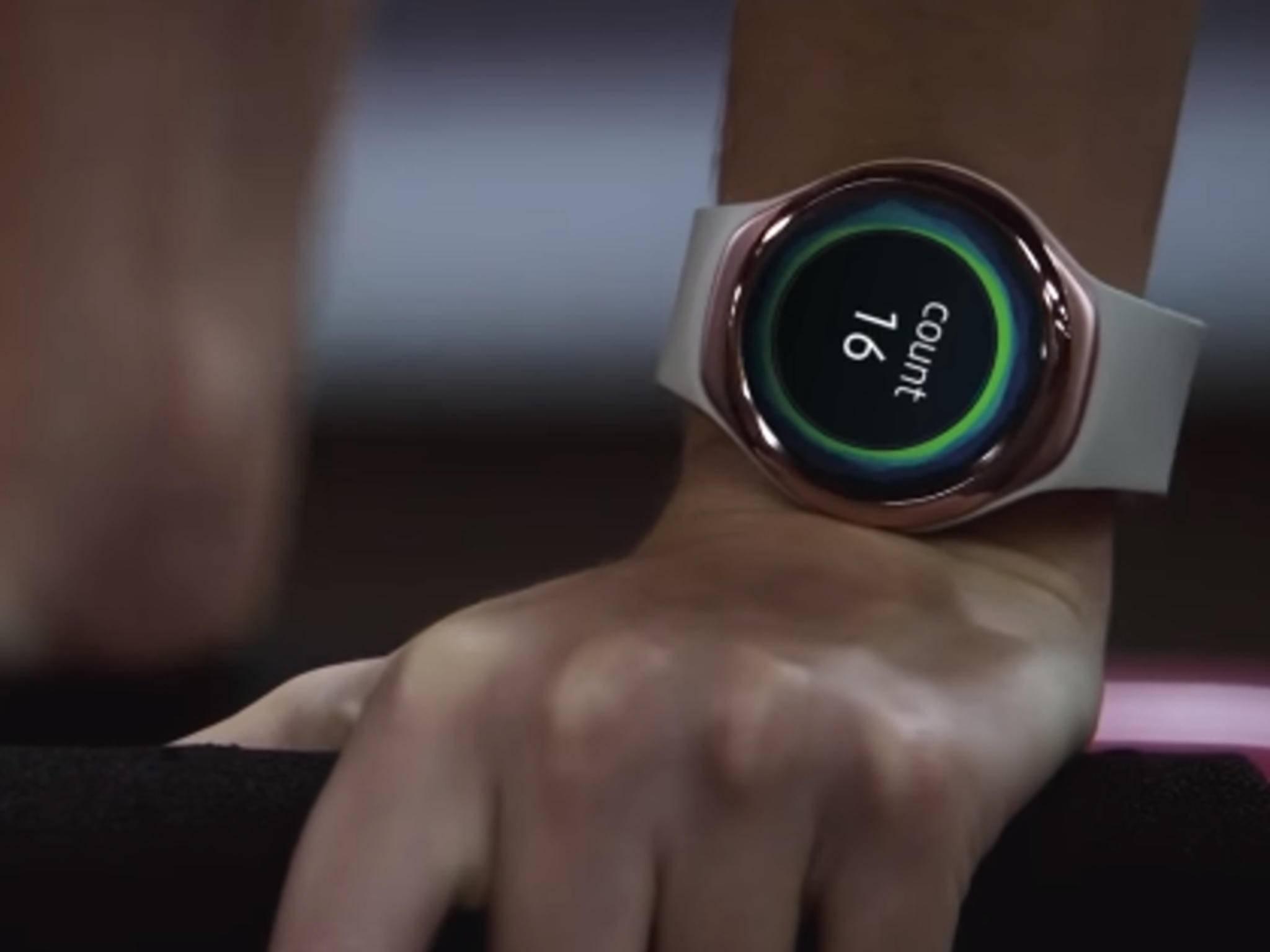 Der nächste Fitness-Tracker von Samsung soll der Gear S2 ähnlich sehen.