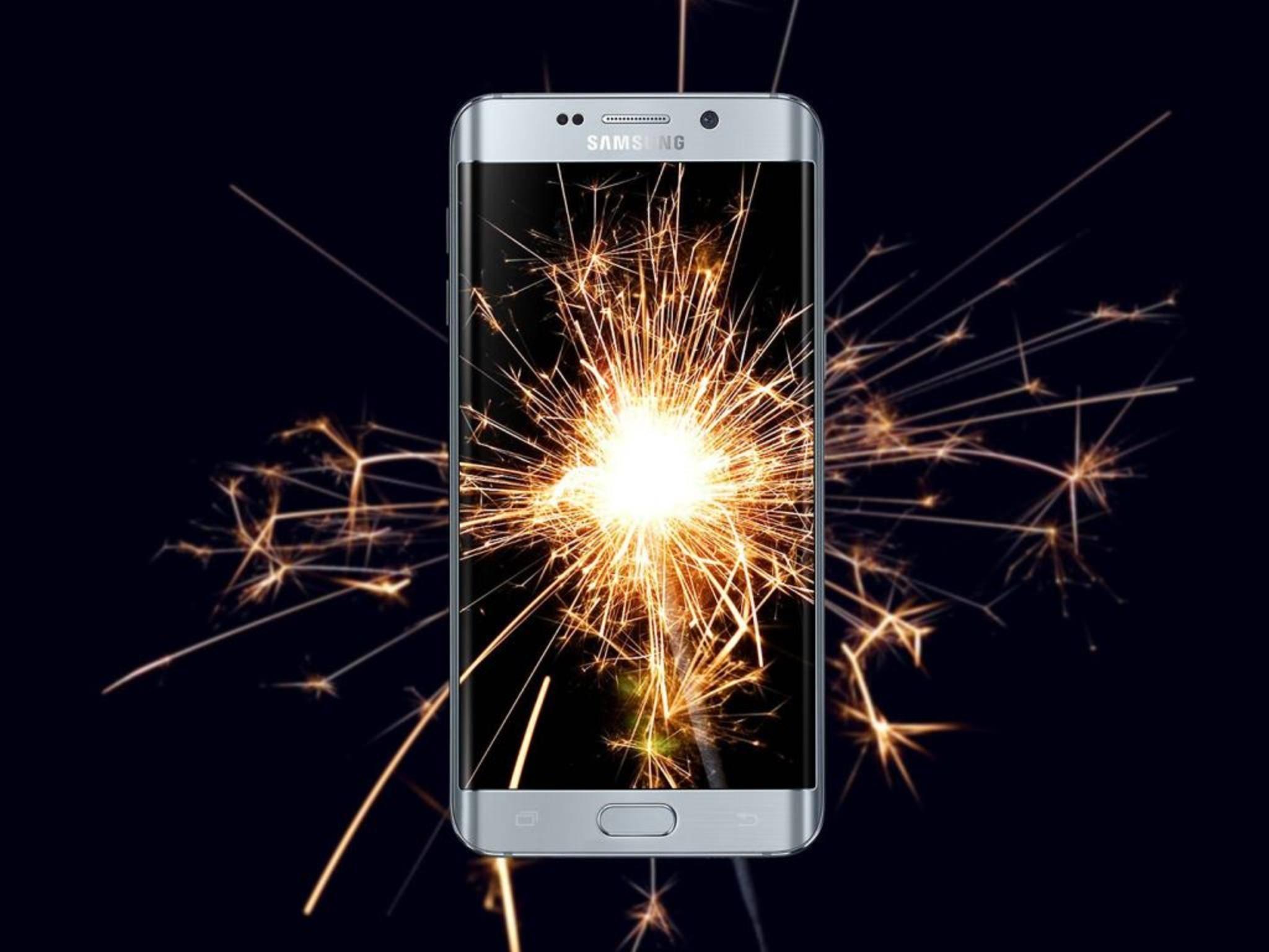 Das Galaxy S6 Edge Plus läuft jetzt mit Android 6.0.1.