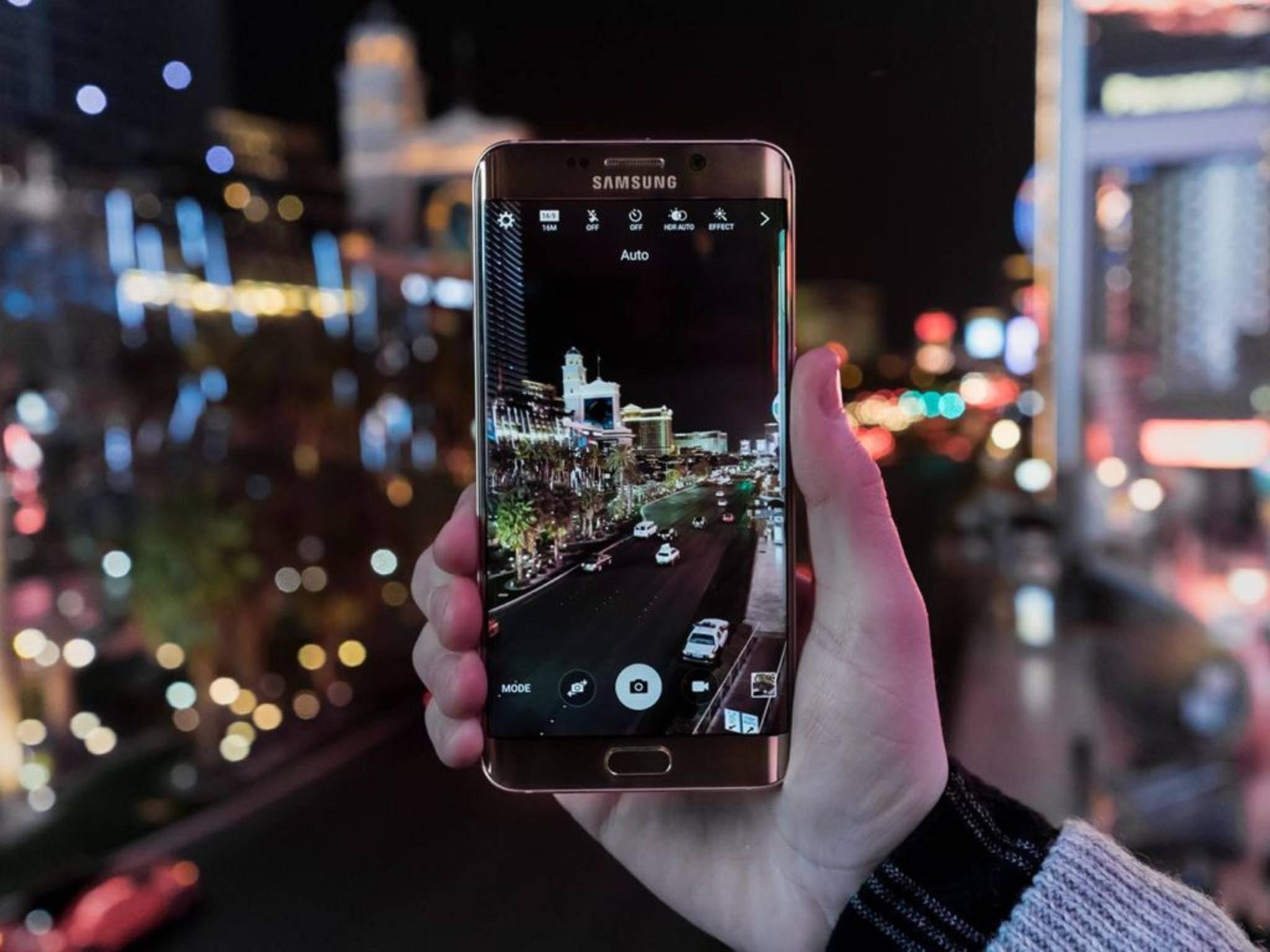 Das Galaxy Note 7 könnte ausschließlich mit Edge-Display kommen.
