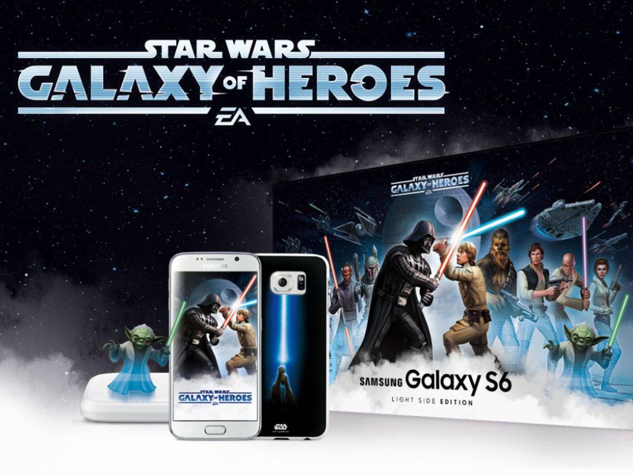 Samsung Galaxy S6 Star Wars Bundle