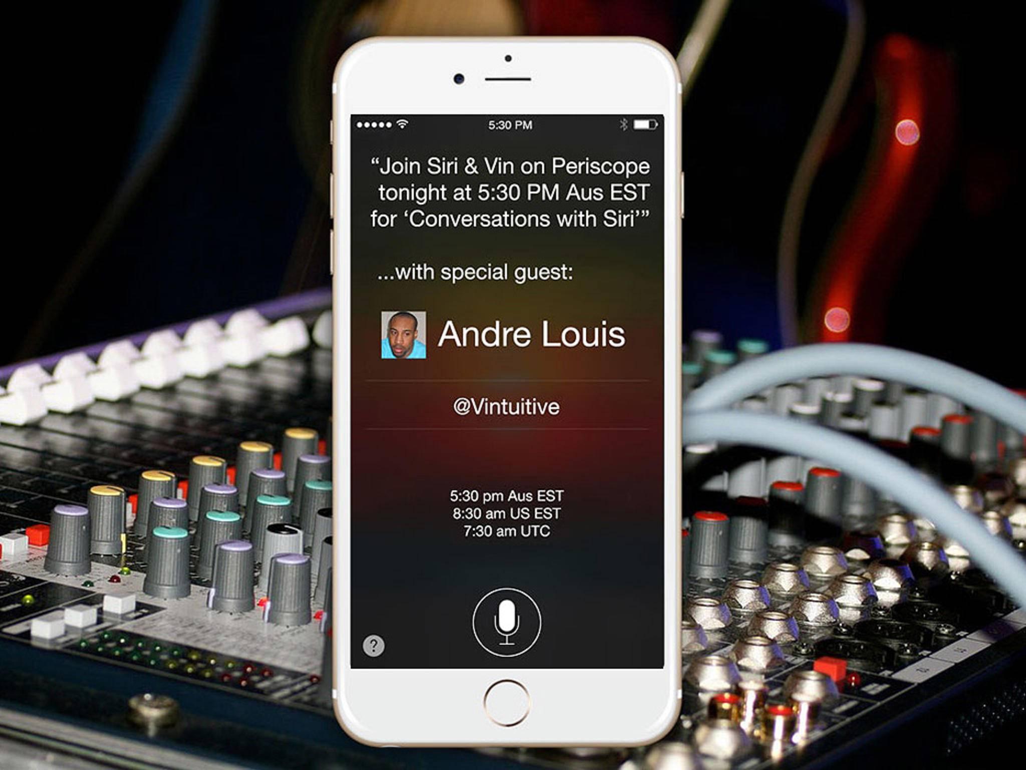 Siri dürfte in iOS 10 mit Drittanbieter-Apps zusammenarbeiten.
