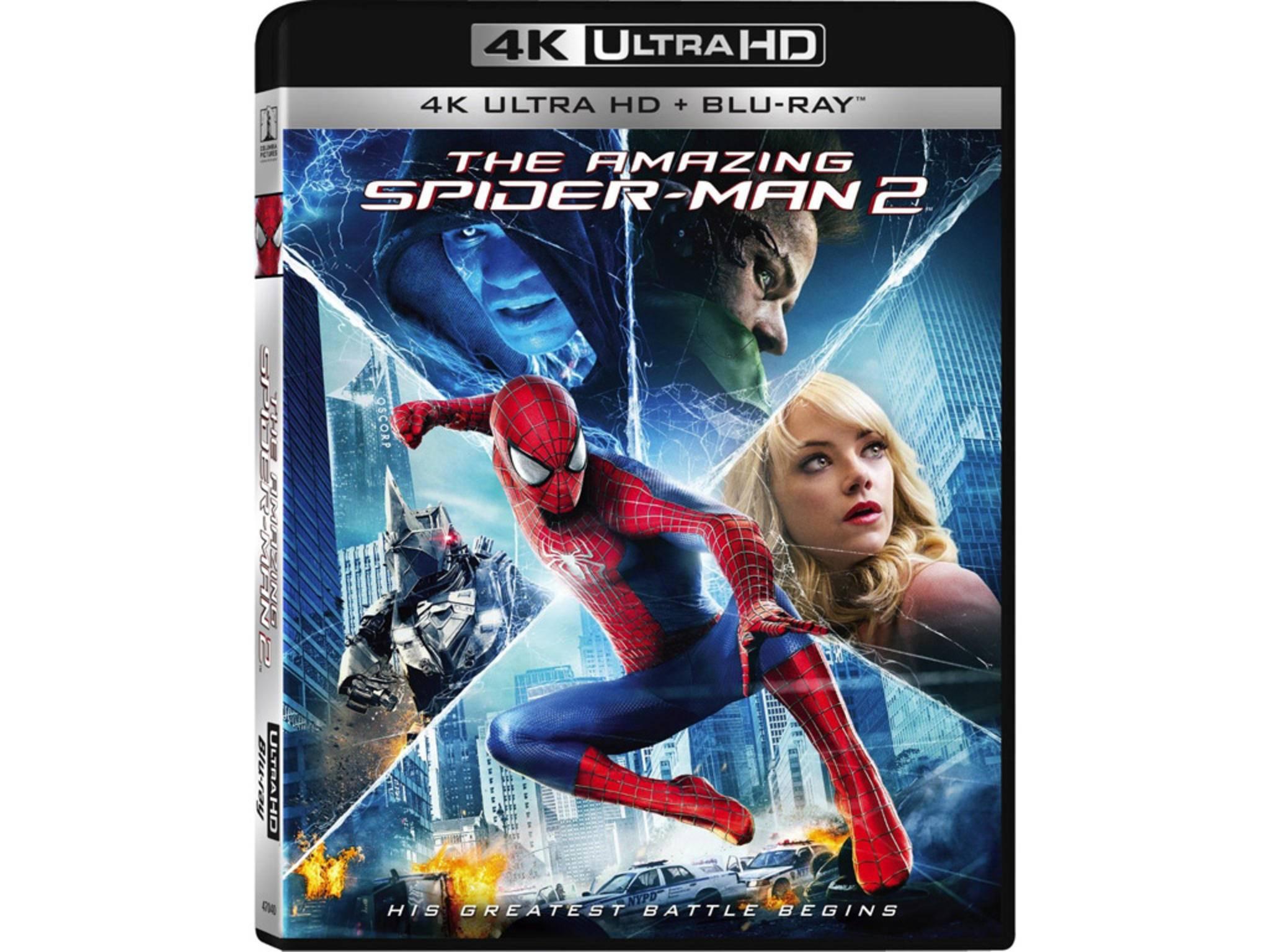 """Einer der Ultra HD-Blu-ray-Starttitel: """"The Amazing Spider-Man 2"""""""