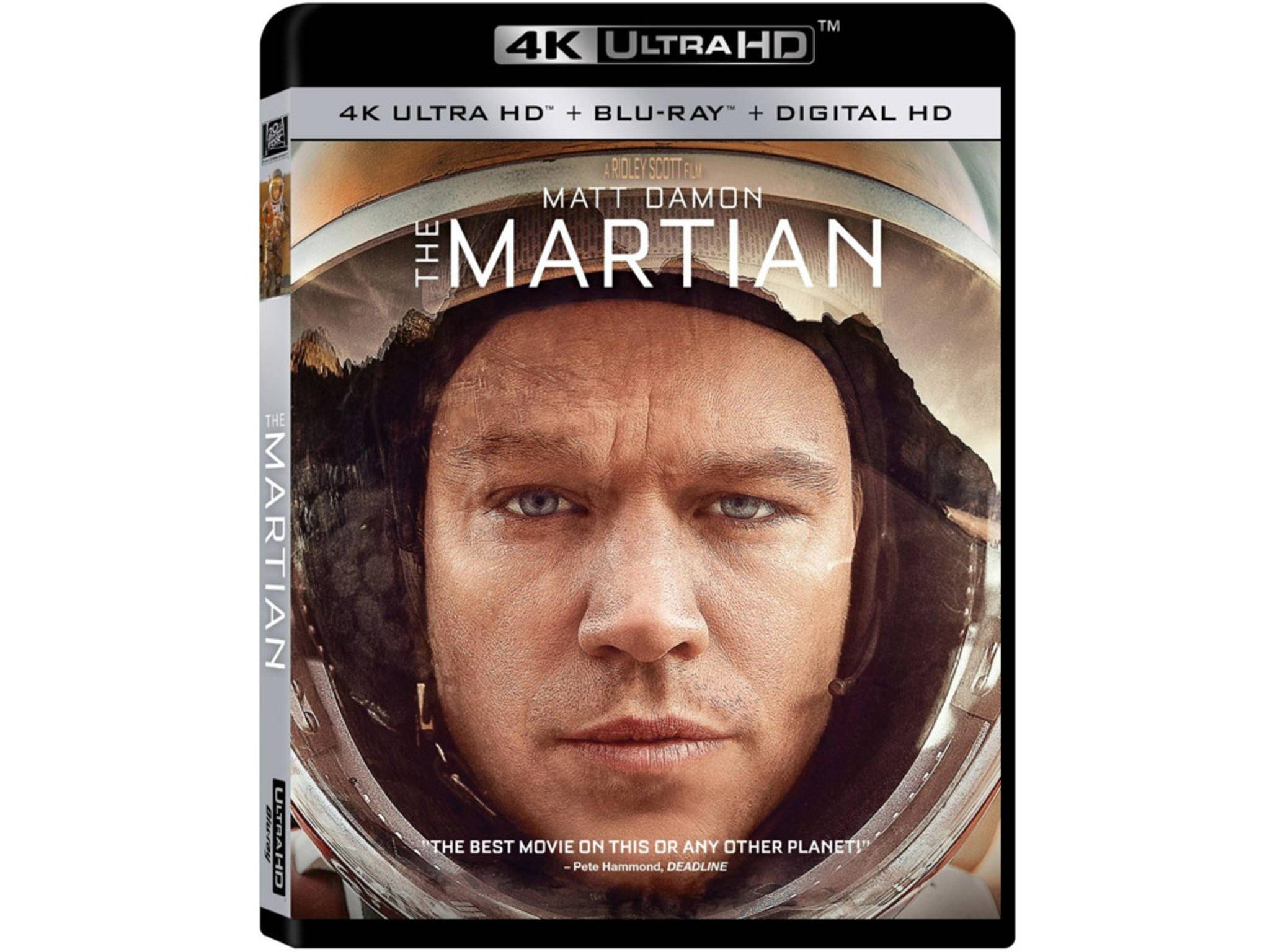 "Einer der Ultra HD-Blu-ray-Starttitel: ""The Martian"""