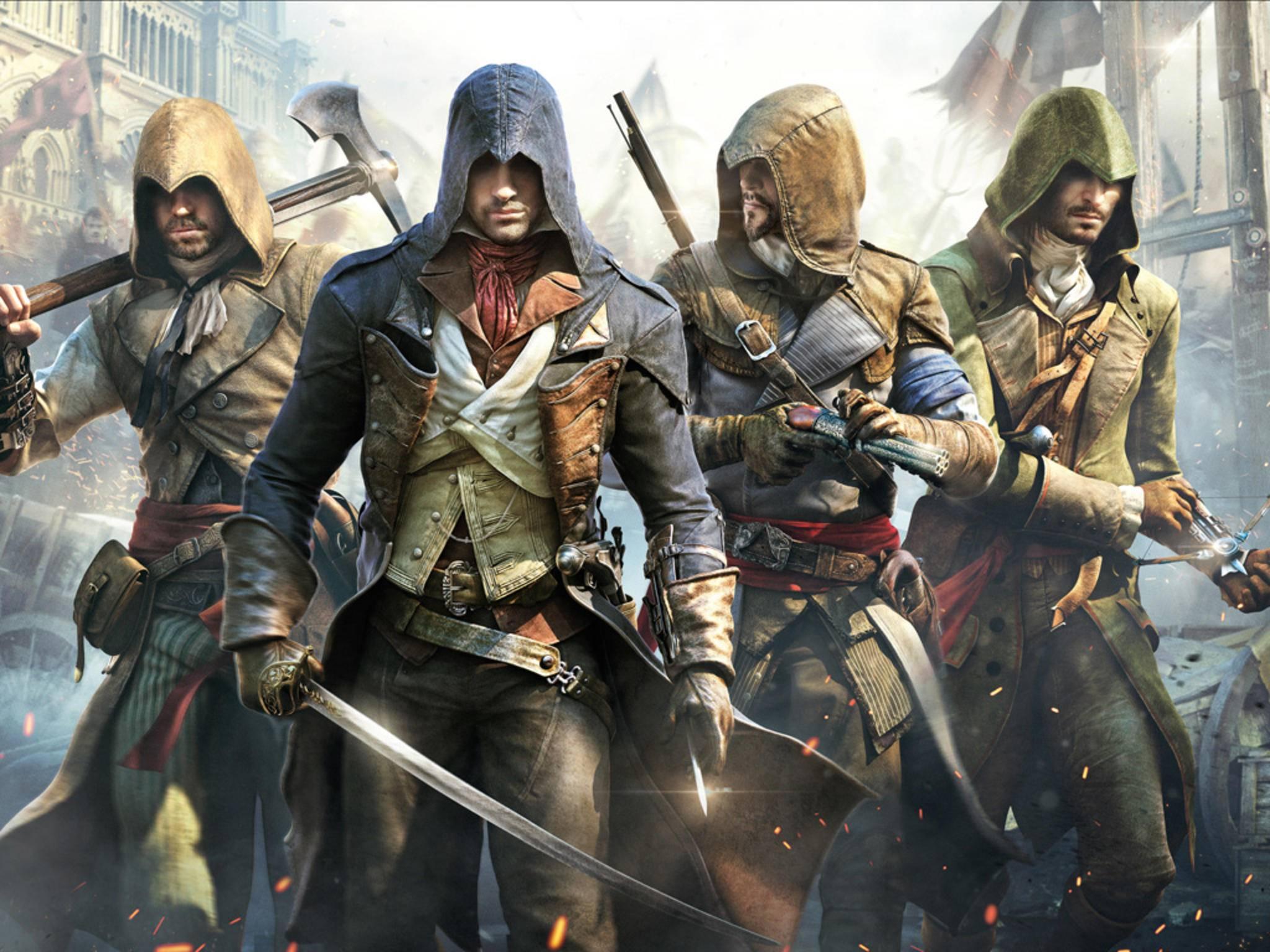 """""""Assassin's Creed Unity"""": Der Titel enttäuschte die Erwartungen von Ubisoft."""