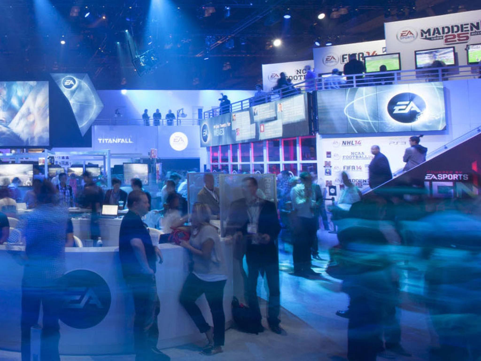 EA Electronic Arts Stand E3