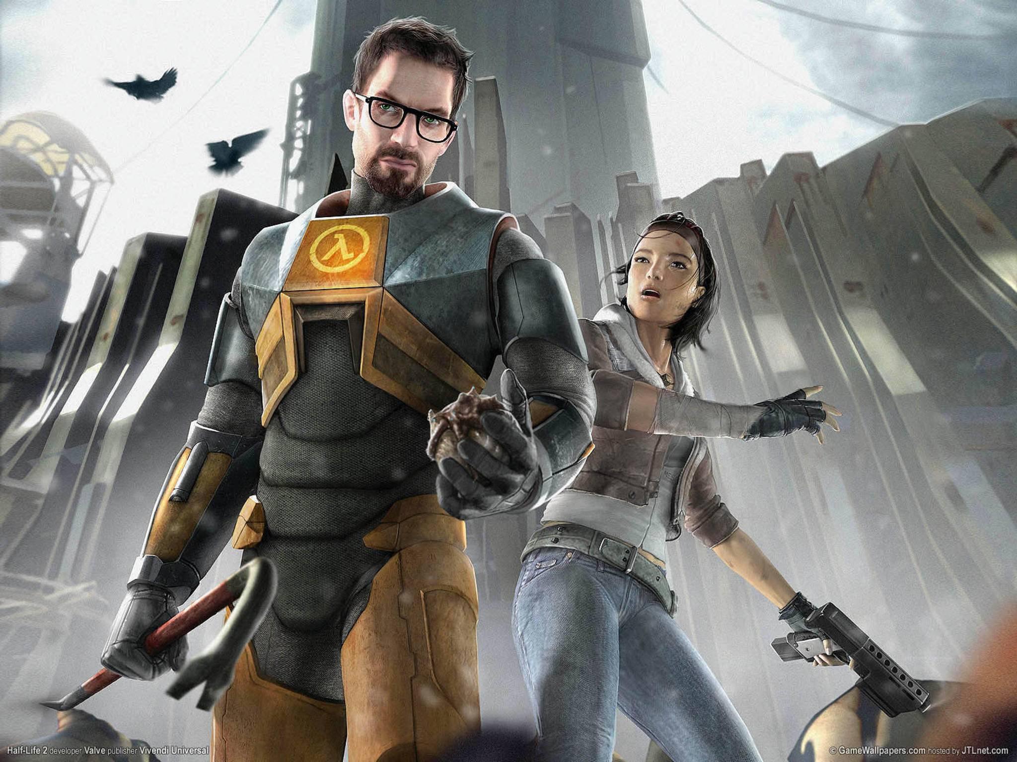"""Auch """"Half Life"""" wird oft als Prototyp eines Killerspiels angeführt."""
