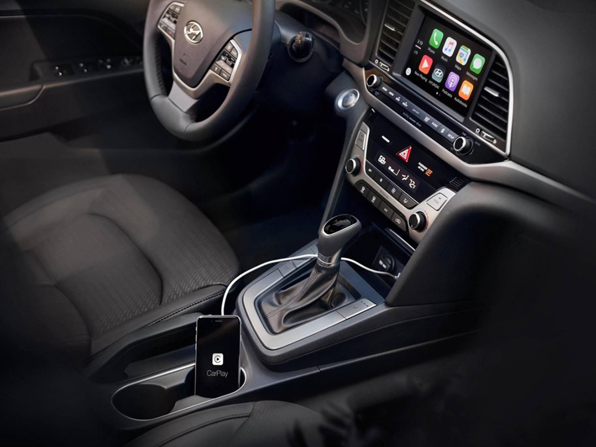 Der Hyundai Elantra ist mit Android Auto ausgestattet.