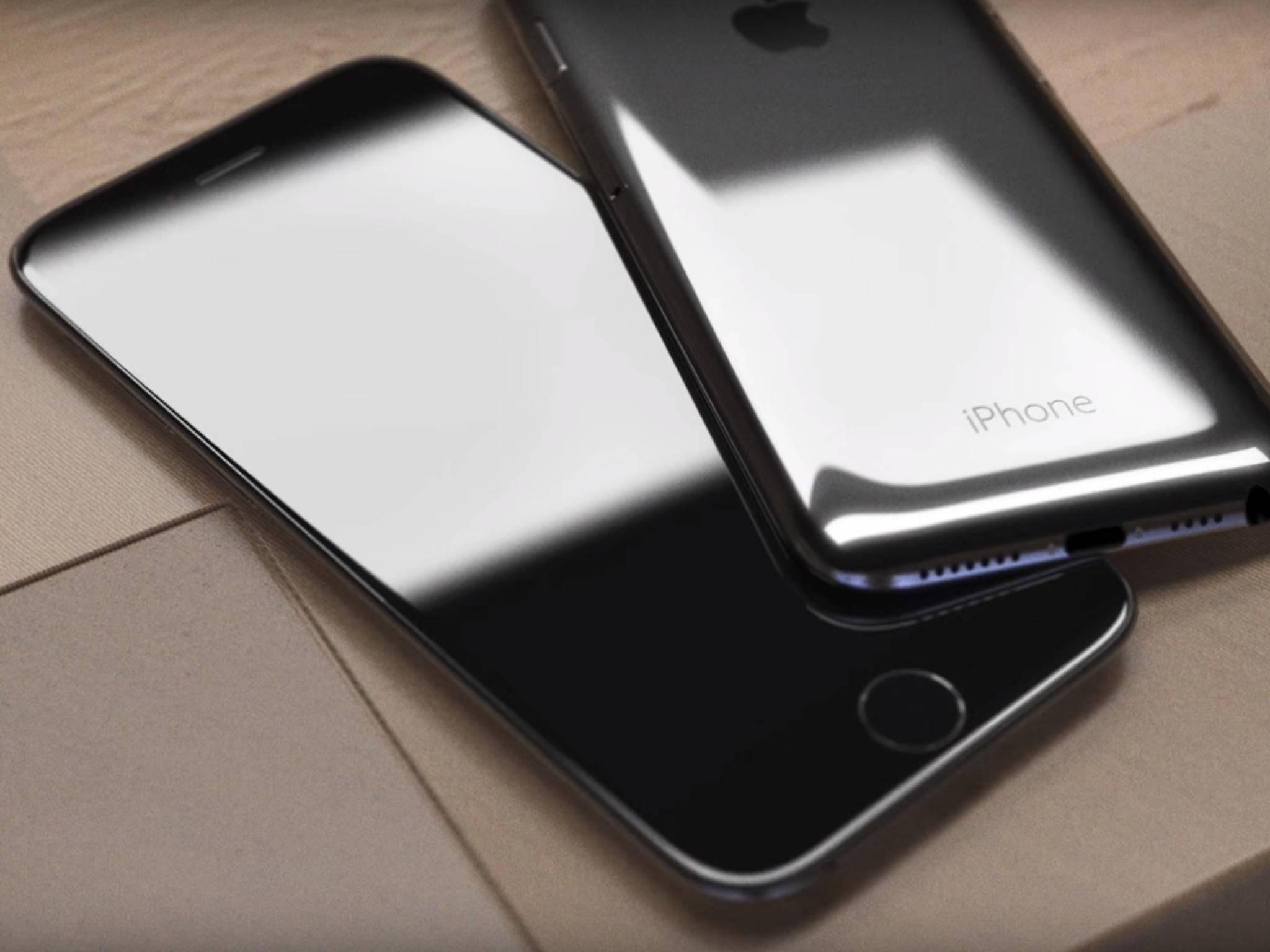 Back in Black: Das iPhone 7 Plus.