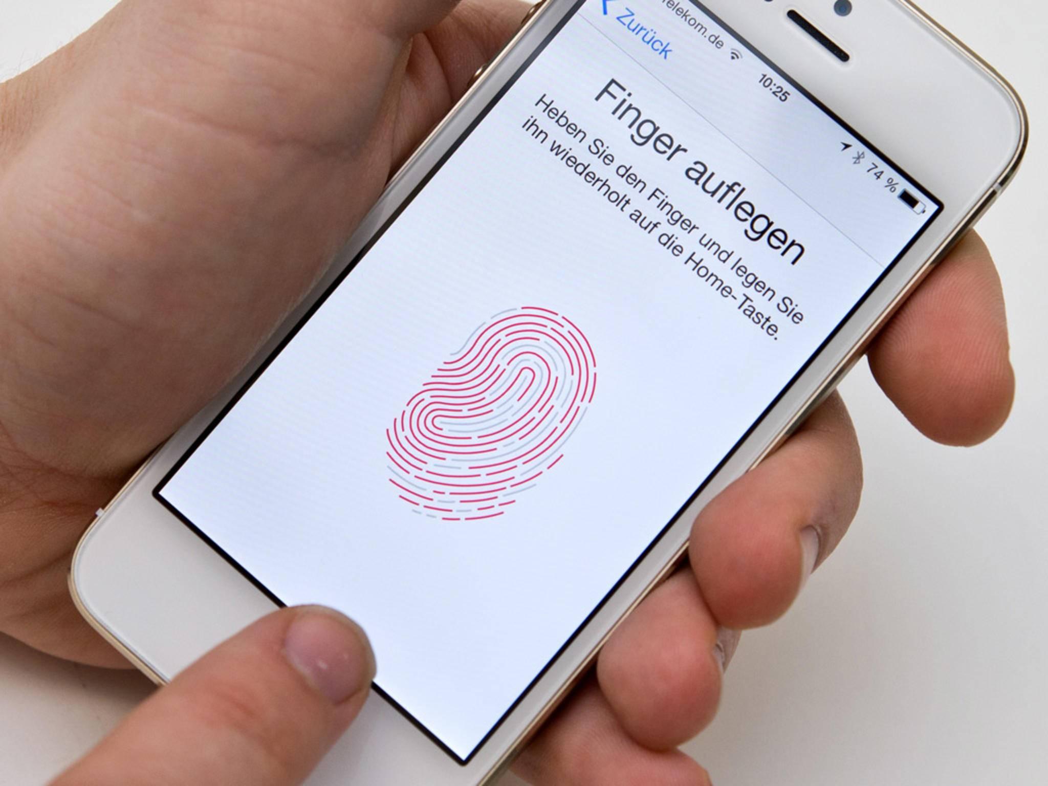 Apple hat mit Touch ID eine Vorreiterrolle eingenommen.