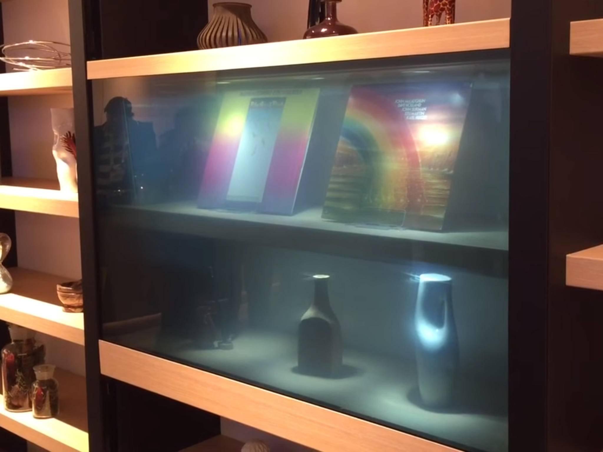 Panasonic durchsichtiger Fernseher