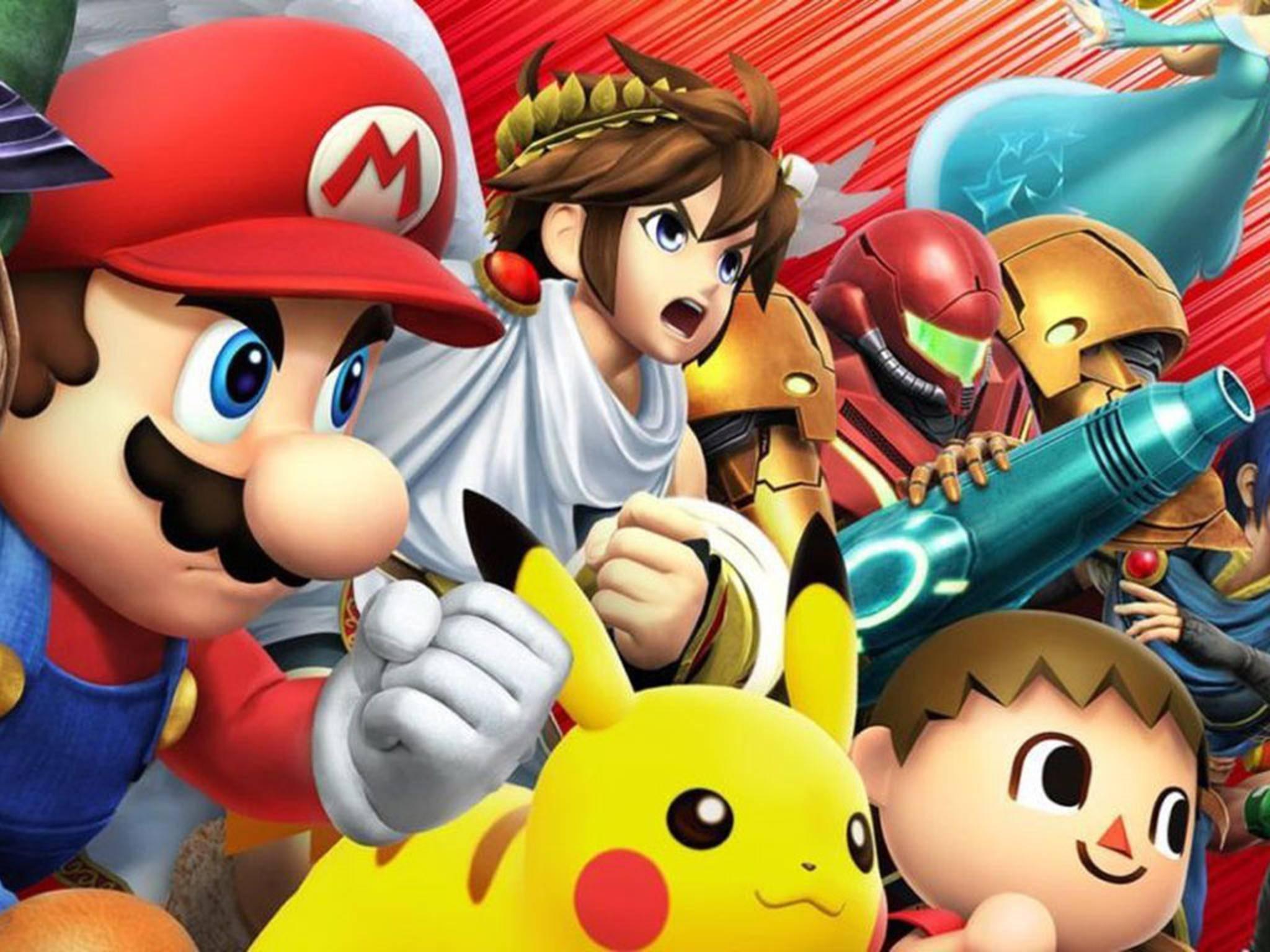 """Zum Release der Nintendo NX könnte es auch eine neue Version von """"Super Smash Bros."""" geben."""