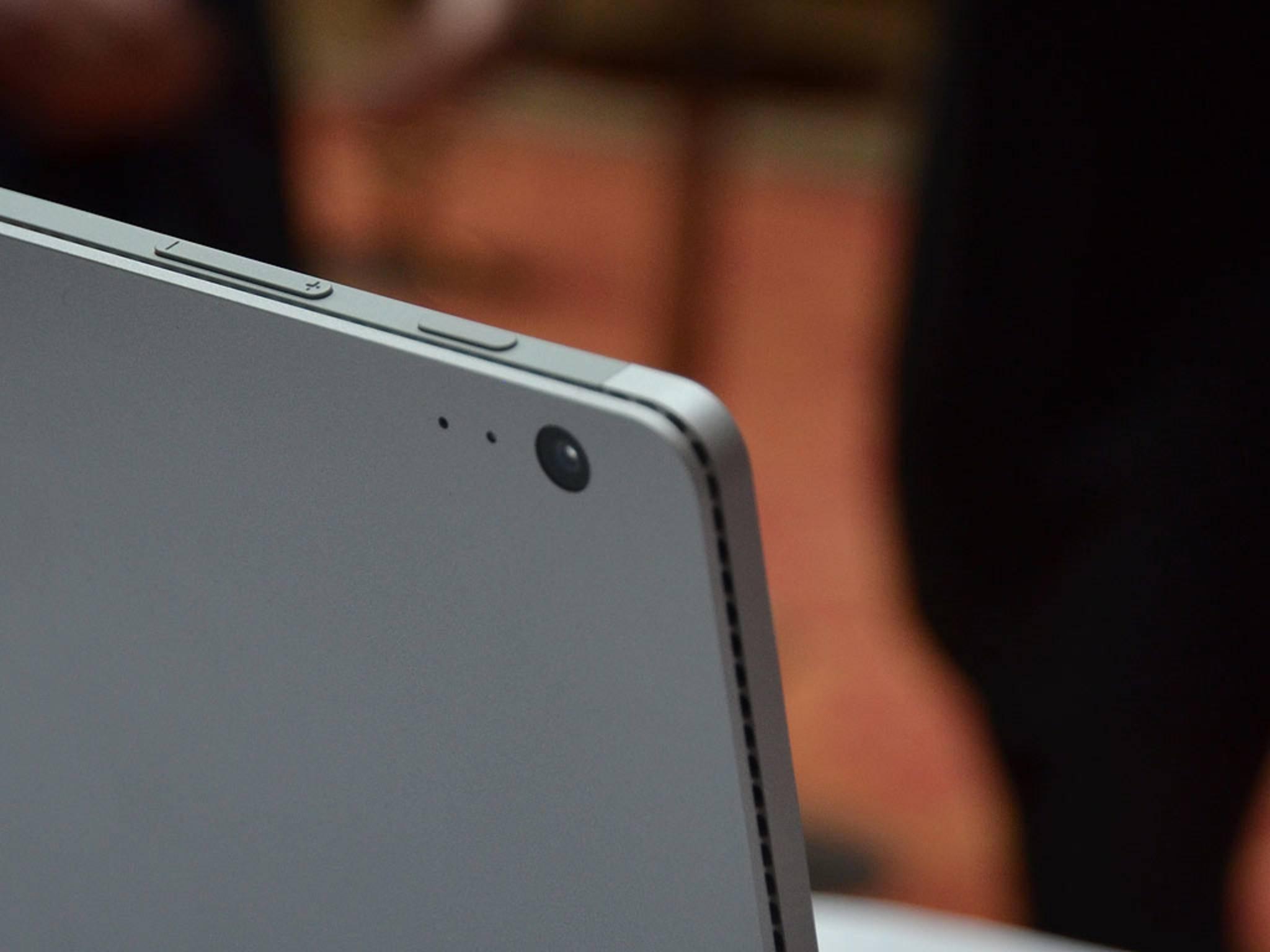 ... das Surface Book hat auch eine Kamera.