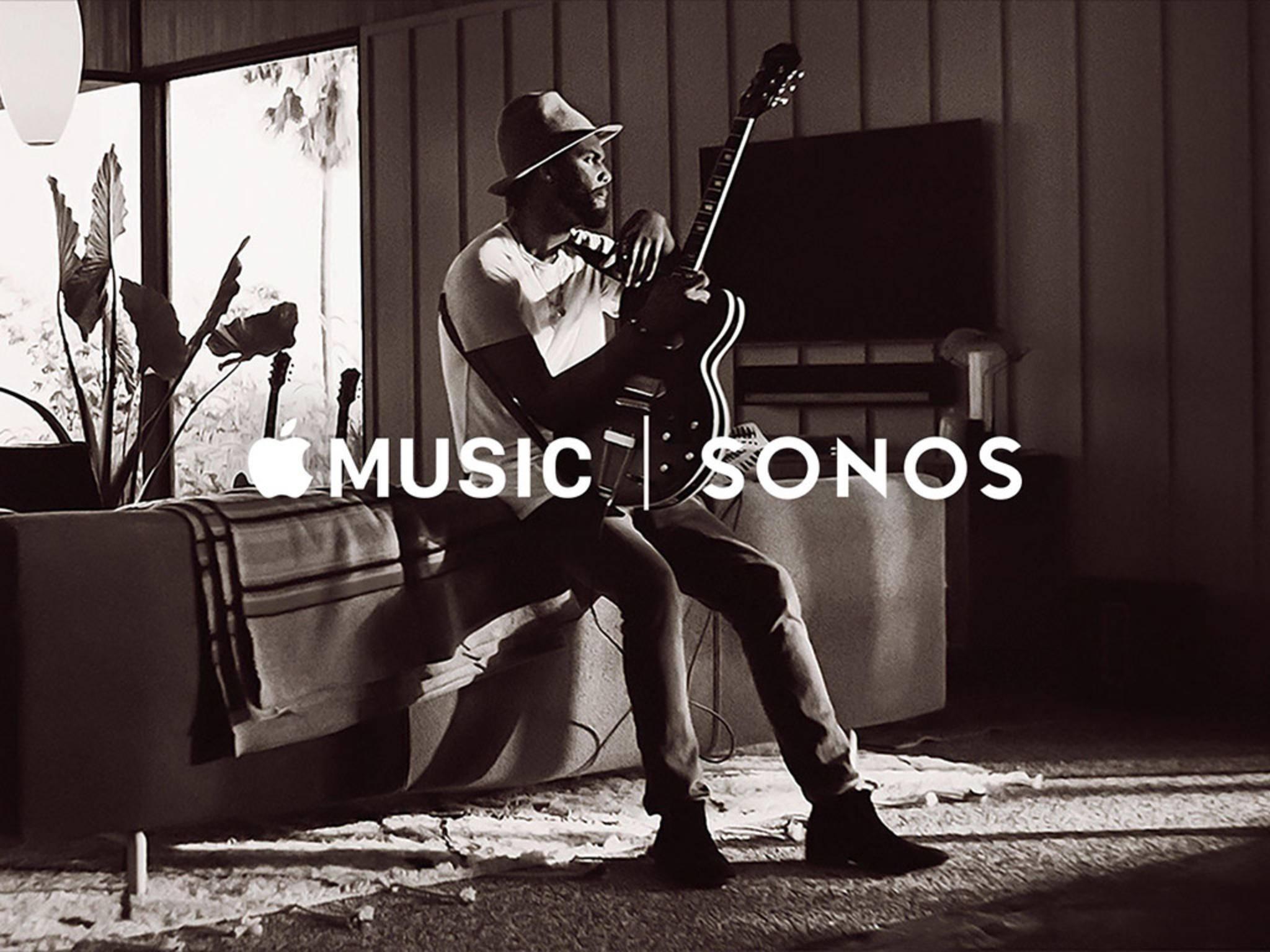 Apple Music kann jetzt auf Sonos-Lautsprechern gestreamt werden.